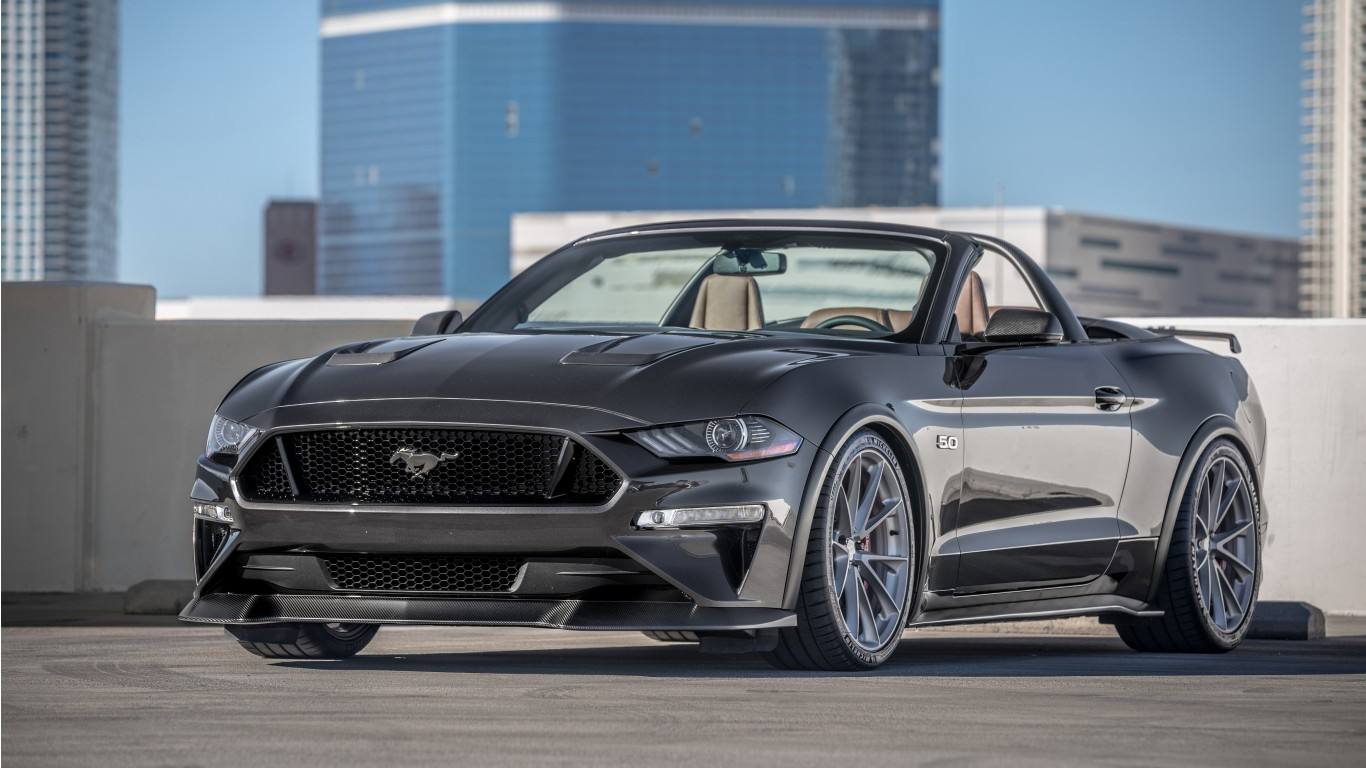 2018 Ford Mustang Gt Convertible By Speedkore 4k Wallpaper