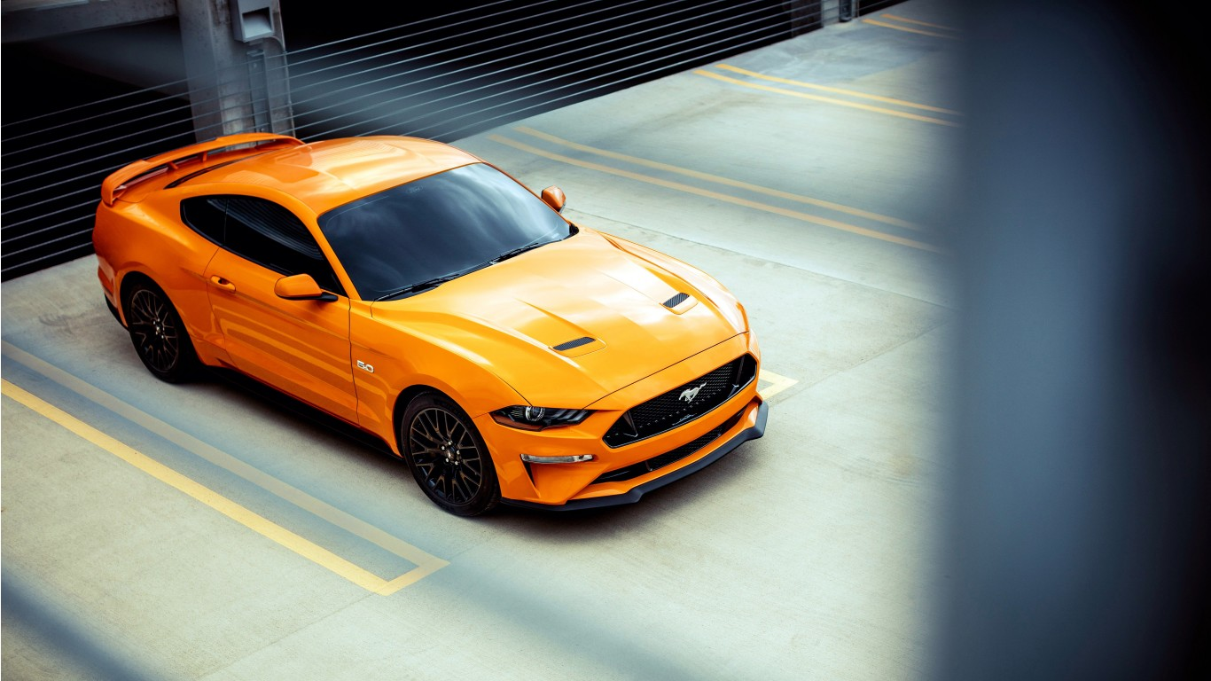 2018 Ford Mustang GT Fastback Sports Car 4K Wallpaper