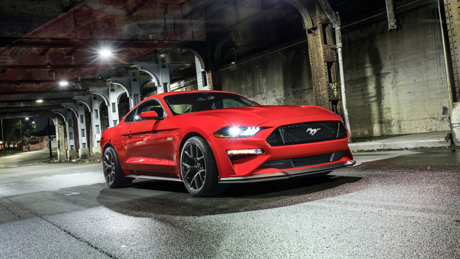 2018 ford mustang gt level 2 performance pack 4k 5. Black Bedroom Furniture Sets. Home Design Ideas