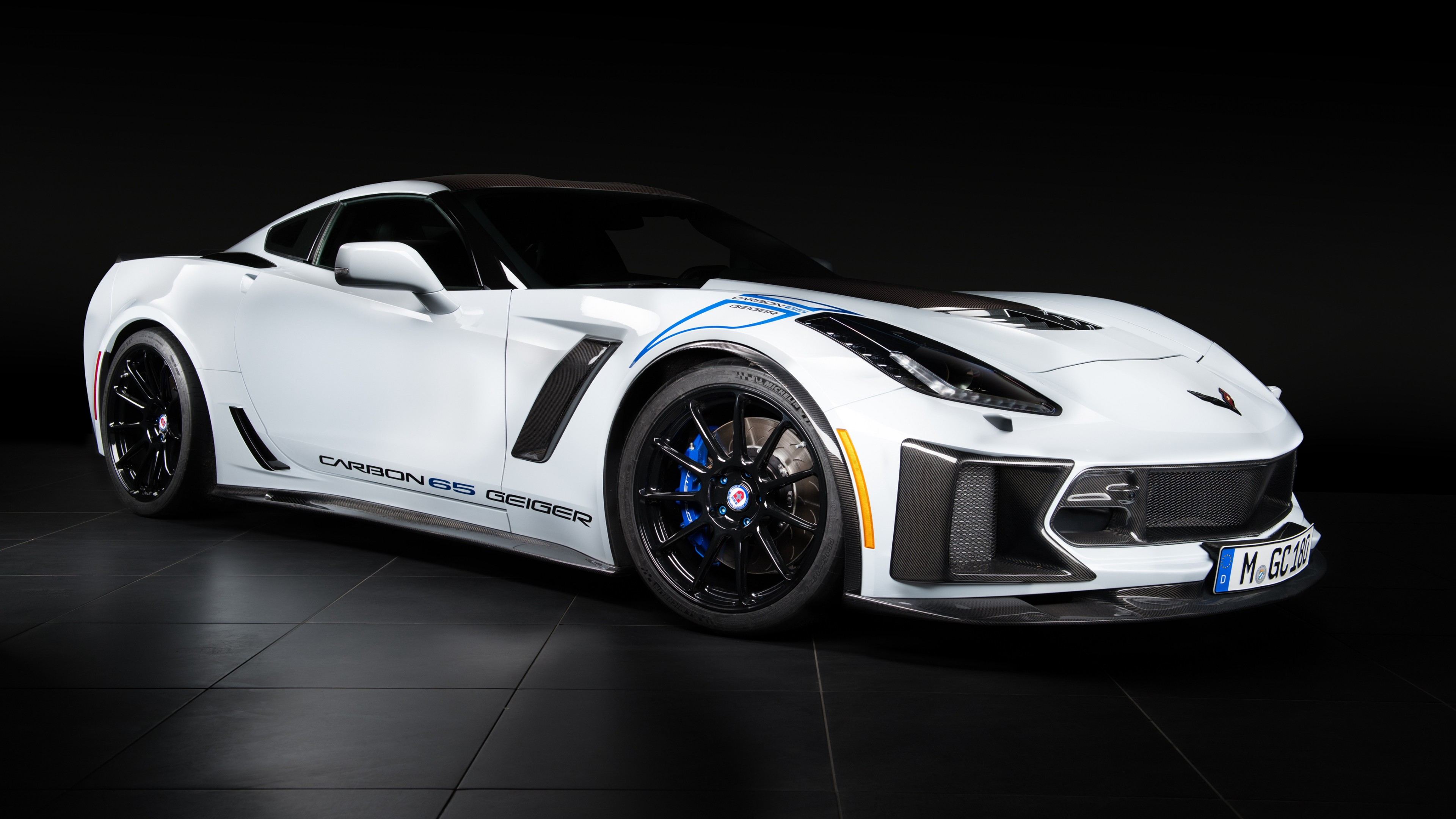 2018 Geiger Chevrolet Corvette Z06 Carbon 65 Edition 4k 2