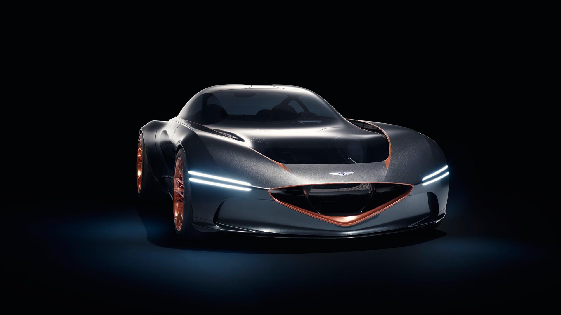 2018 Genesis Essentia Concept Wallpaper Hd Car
