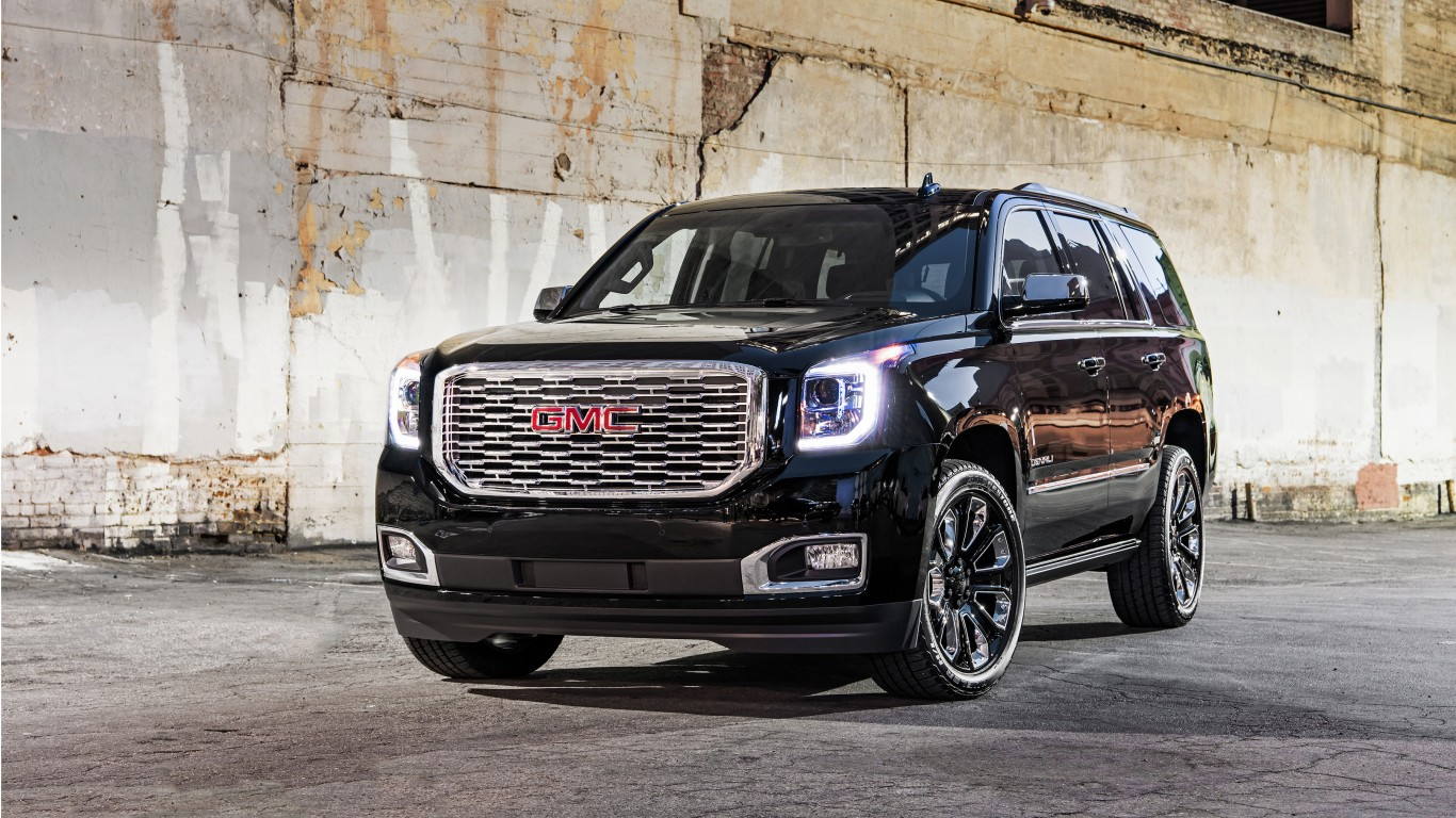 2018 Gmc Yukon Denali Ultimate Black 2 Wallpaper Hd Car