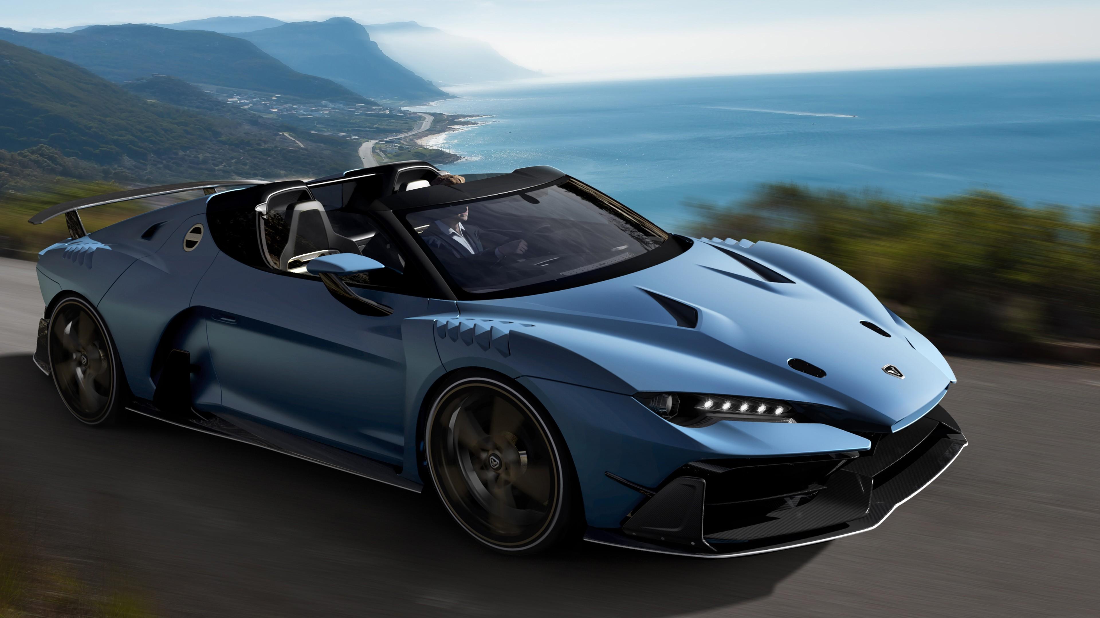 2018 Italdesign Zerouno Duerta 4K 5 Wallpaper HD Car