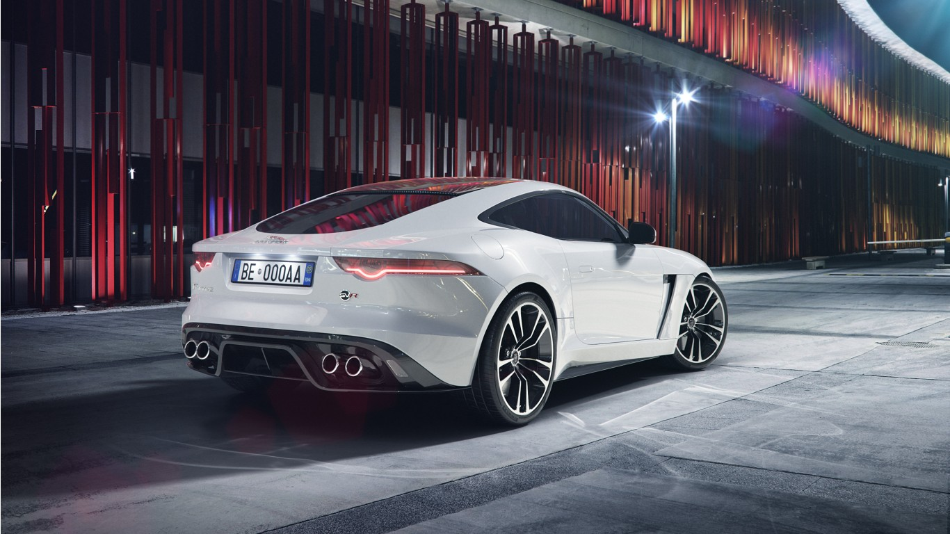 2018 Jaguar F TYPE SVR Coupe Wallpaper | HD Car Wallpapers ...