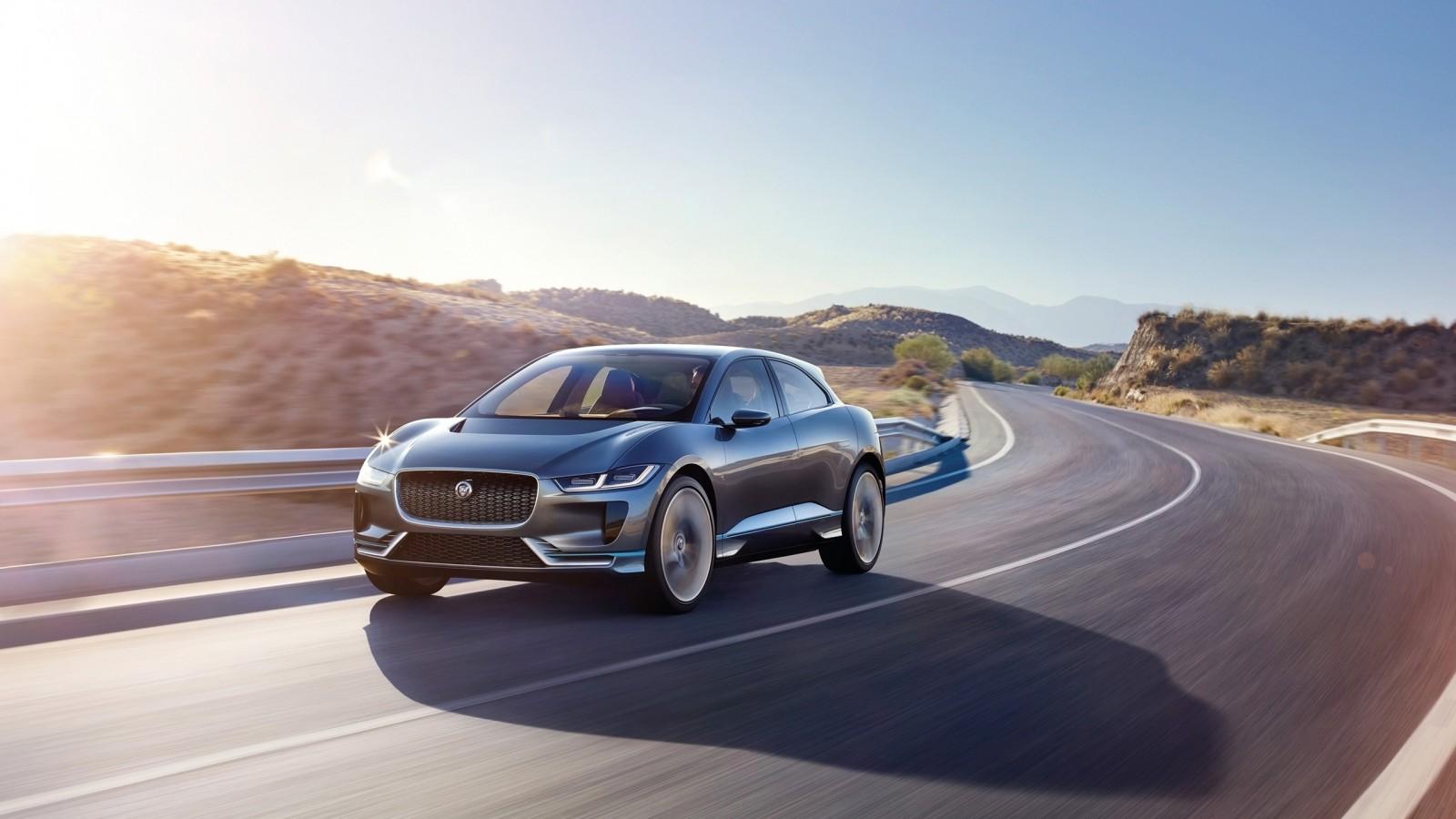 2018 Jaguar I Pace Concept Wallpaper