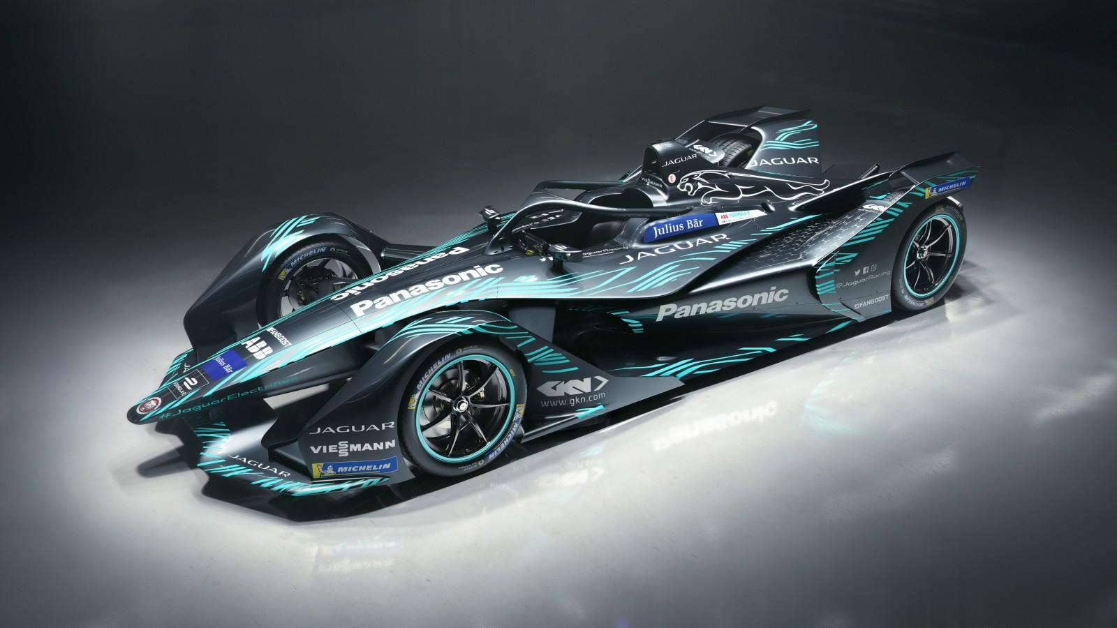 Jaguar F Type S >> 2018 Jaguar I Type Electric Formula E Car 4K Wallpaper ...