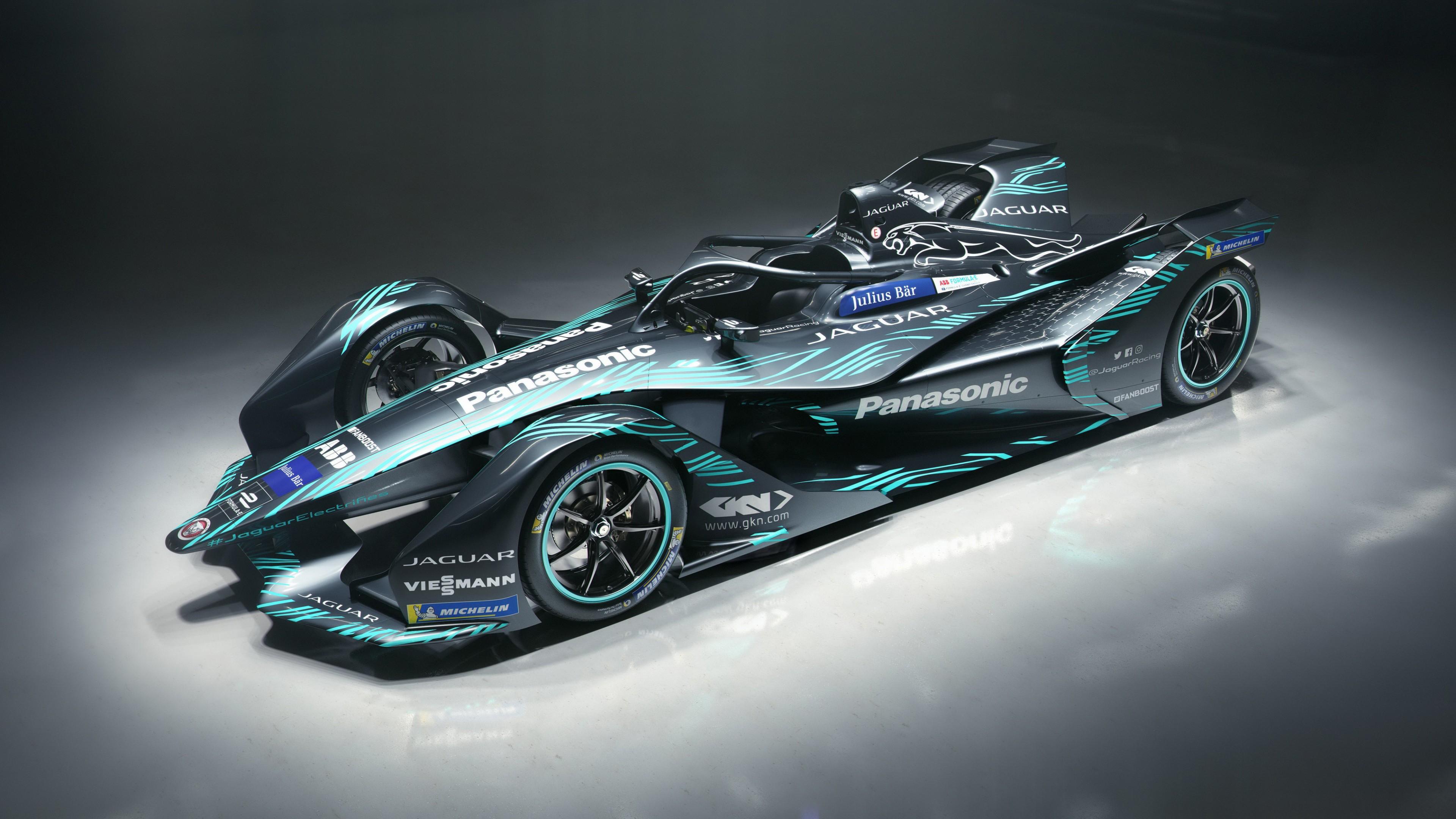 F Type Coupe >> 2018 Jaguar I Type Electric Formula E Car 4K Wallpaper | HD Car Wallpapers | ID #10146