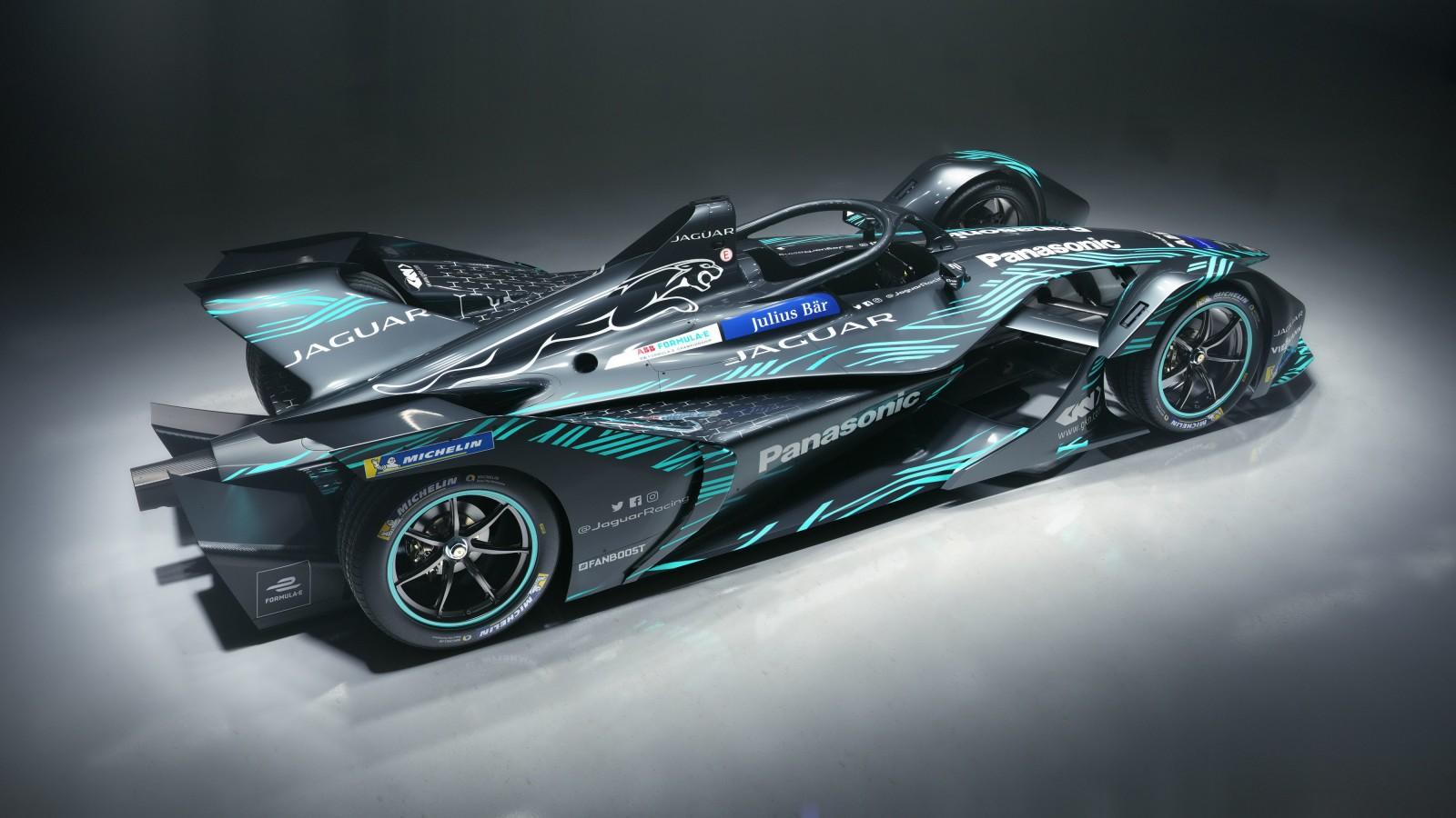 2018 Jaguar I Type Electric Formula E Car 4K 2 Wallpaper ...