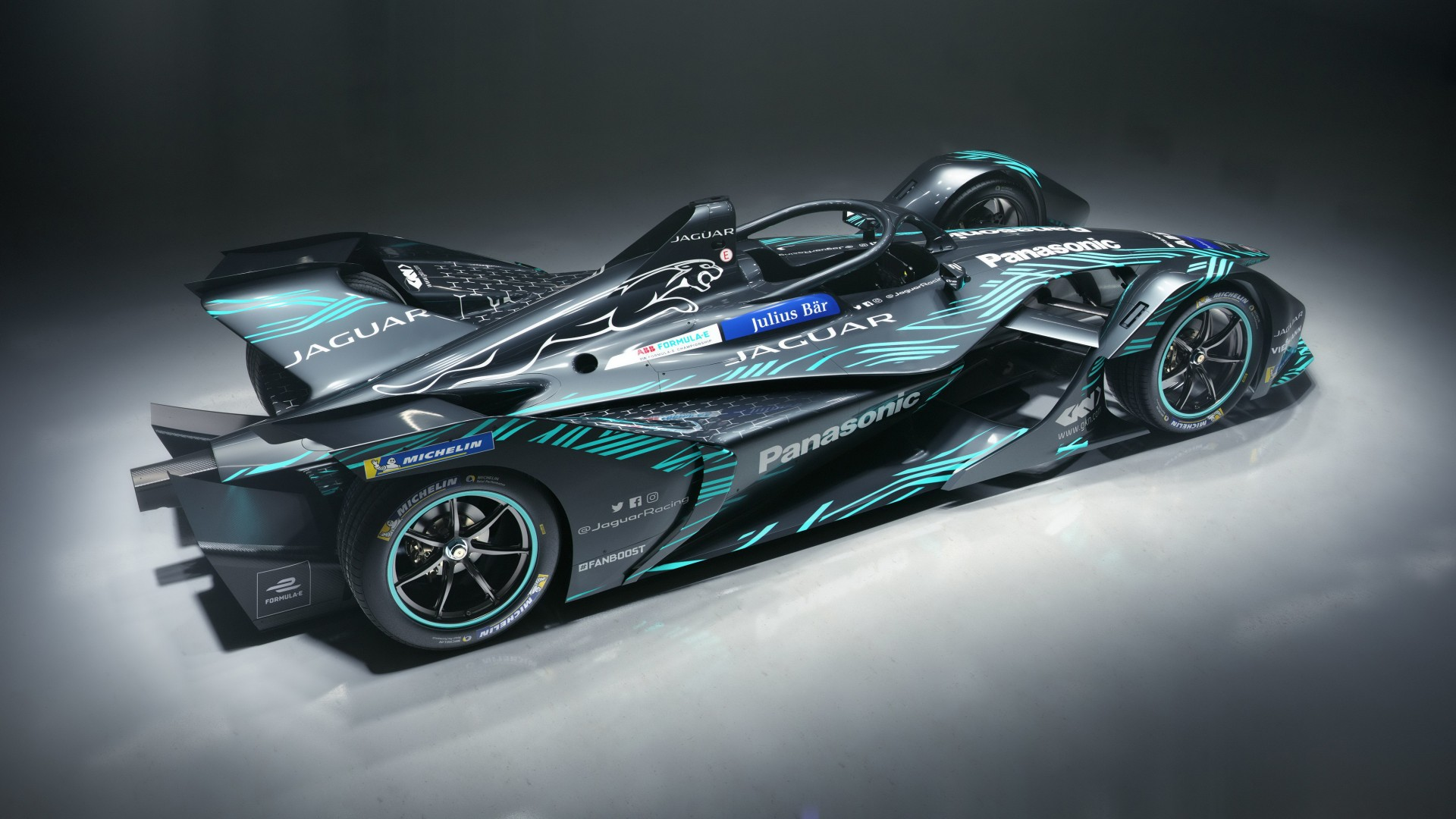 2018 Jaguar I Type Electric Formula E Car 4k 2 Wallpaper