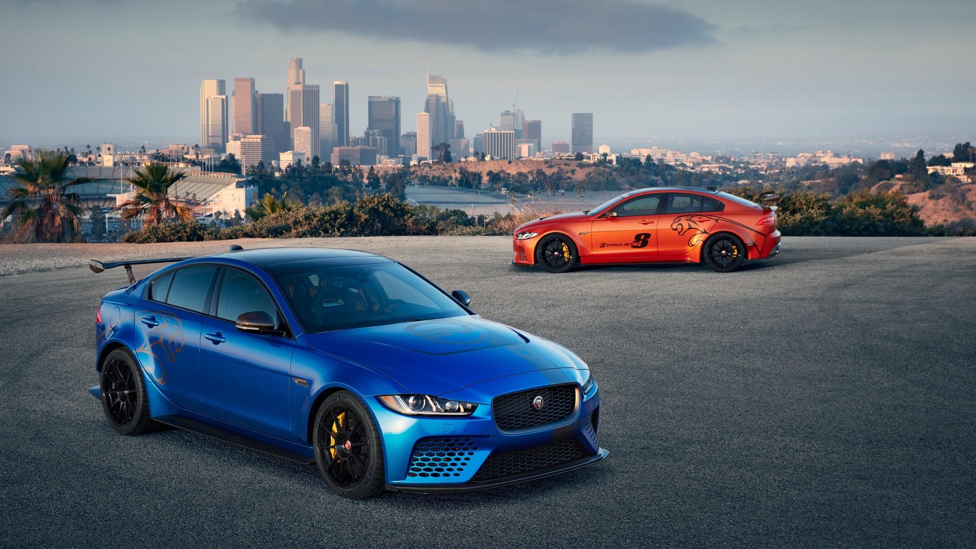 2018 Jaguar Xe Sv Project 8 3 Wallpaper Hd Car