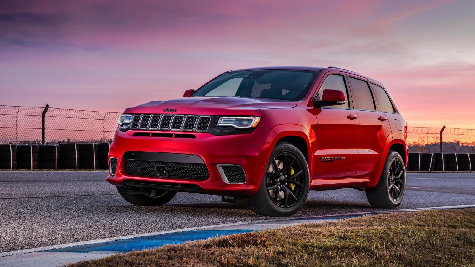 2018 Jeep Grand Cherokee Trackhawk Wallpaper Hd Car Wallpapers