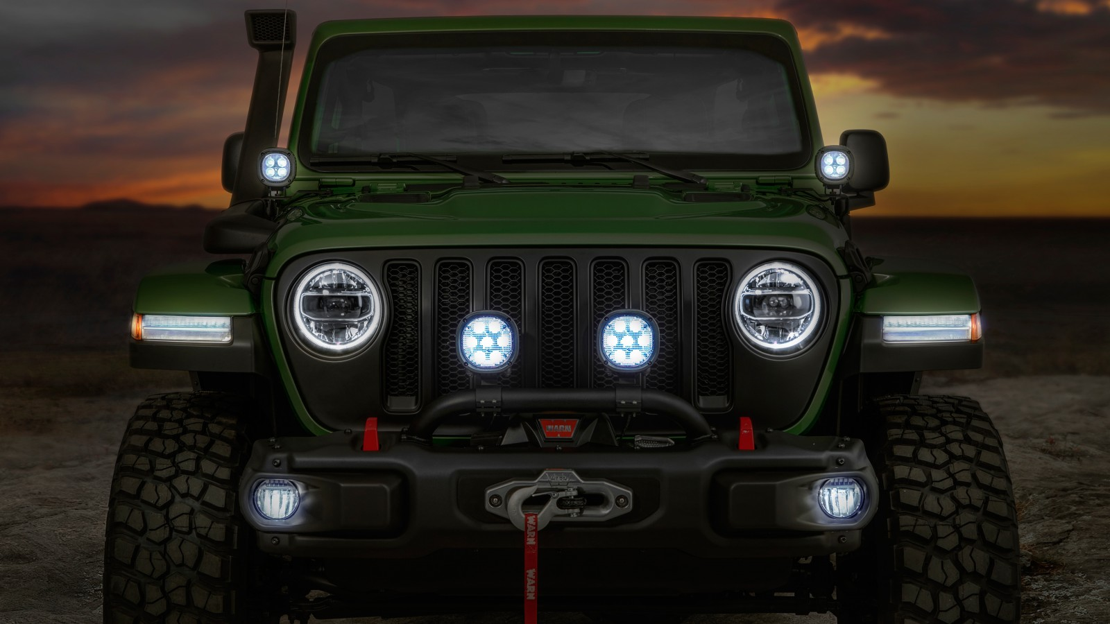 Jeep Wrangler Unlimited Rubicon Moparized X