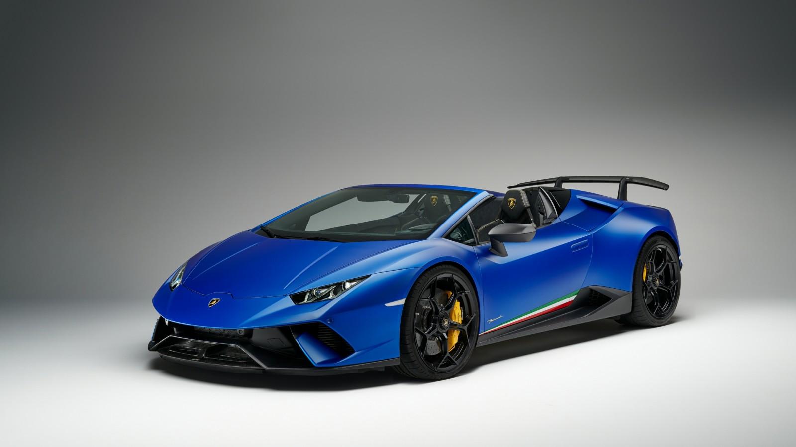 2018 Lamborghini Huracan Perfomante Spyder 4k 4 Wallpaper Hd Car Wallpapers Id 9802