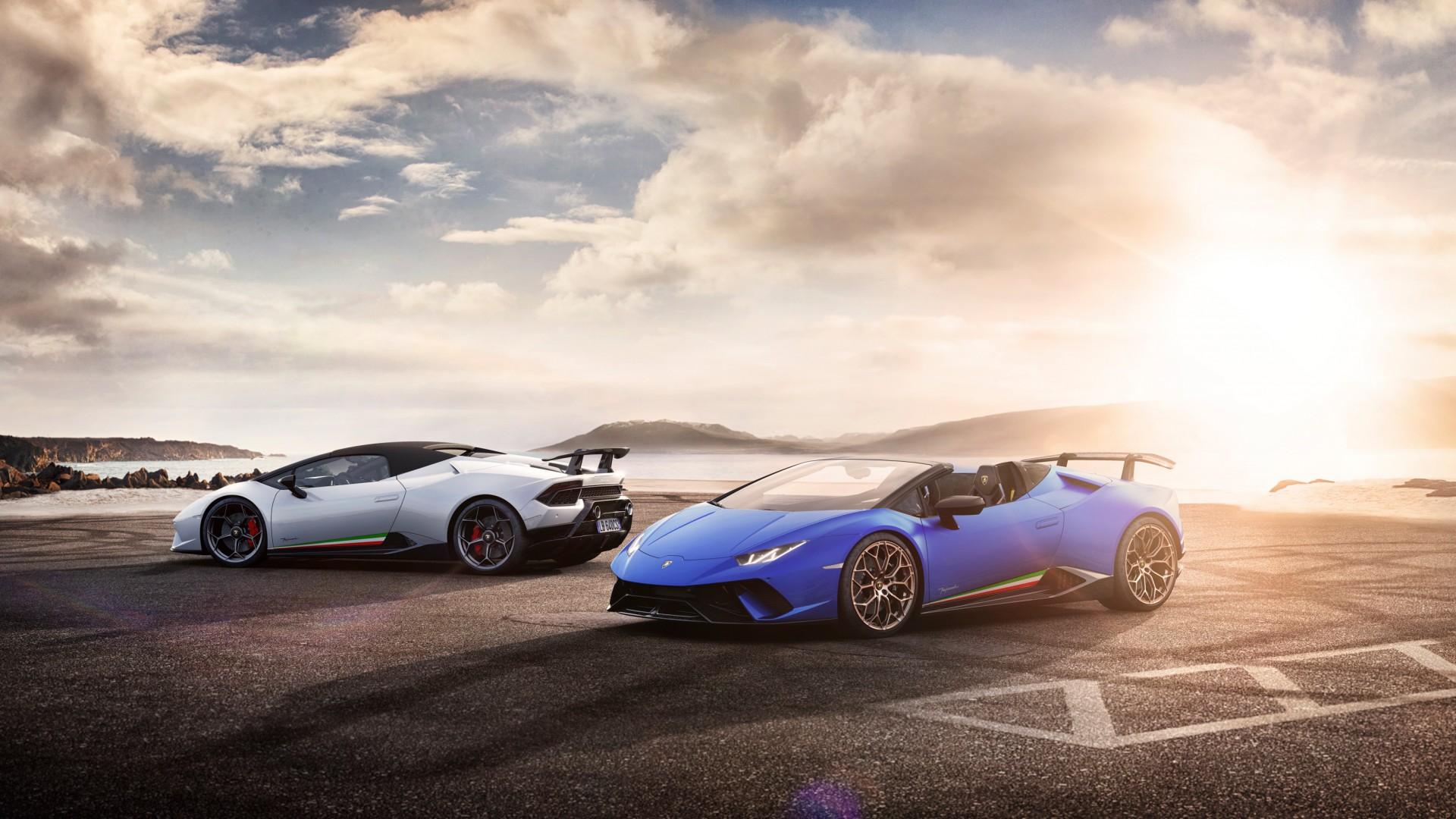 2018 Best Car Wallpapers: 2018 Lamborghini Huracan Perfomante Spyder 5 Wallpaper