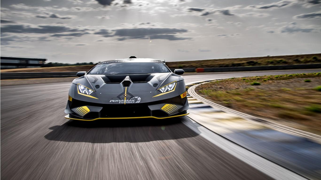 2018 Lamborghini Huracan Super Trofeo Evo 4K 7 Wallpaper ...