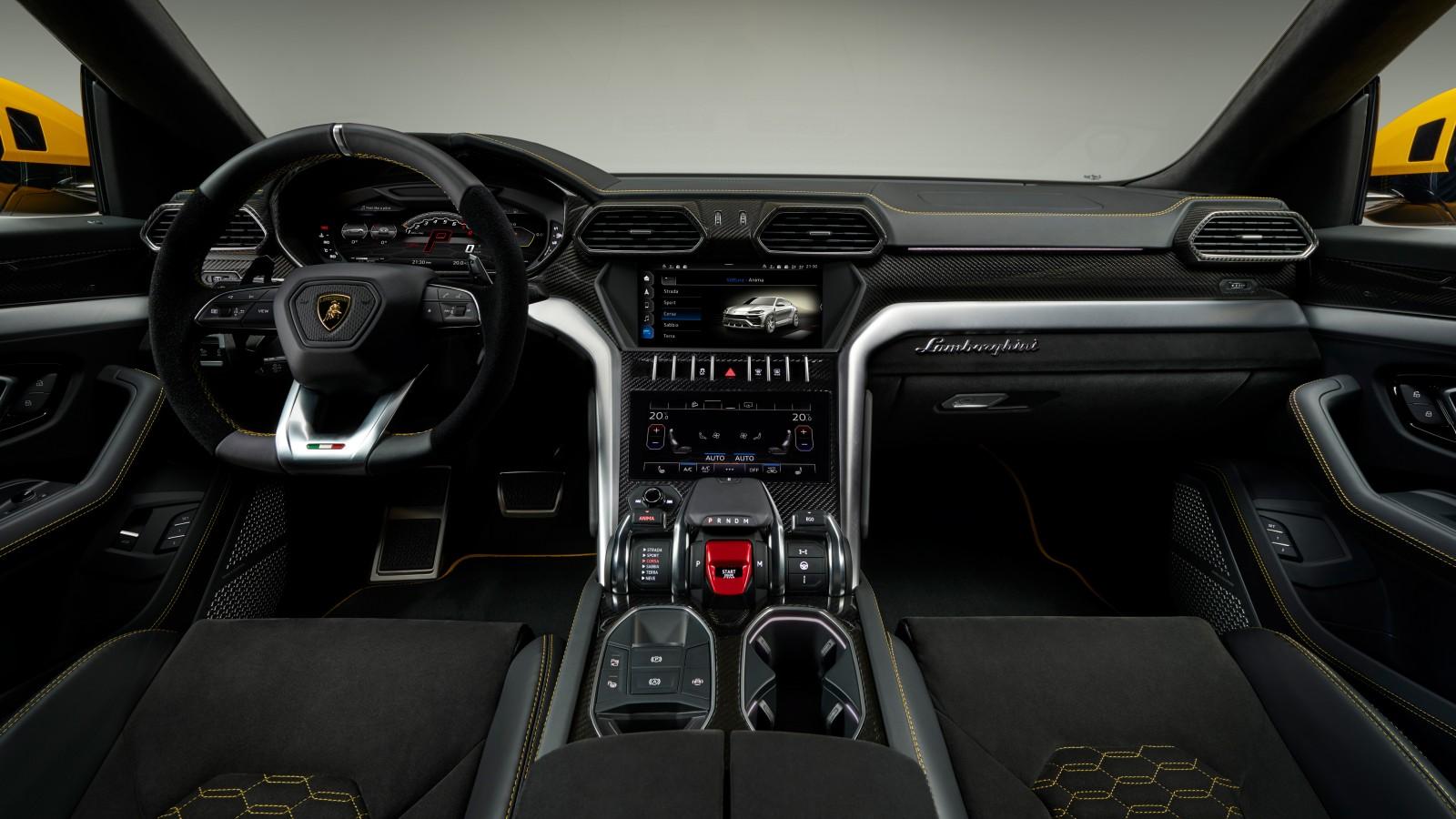 2018 Lamborghini Urus Interior 4K Wallpaper | HD Car ...