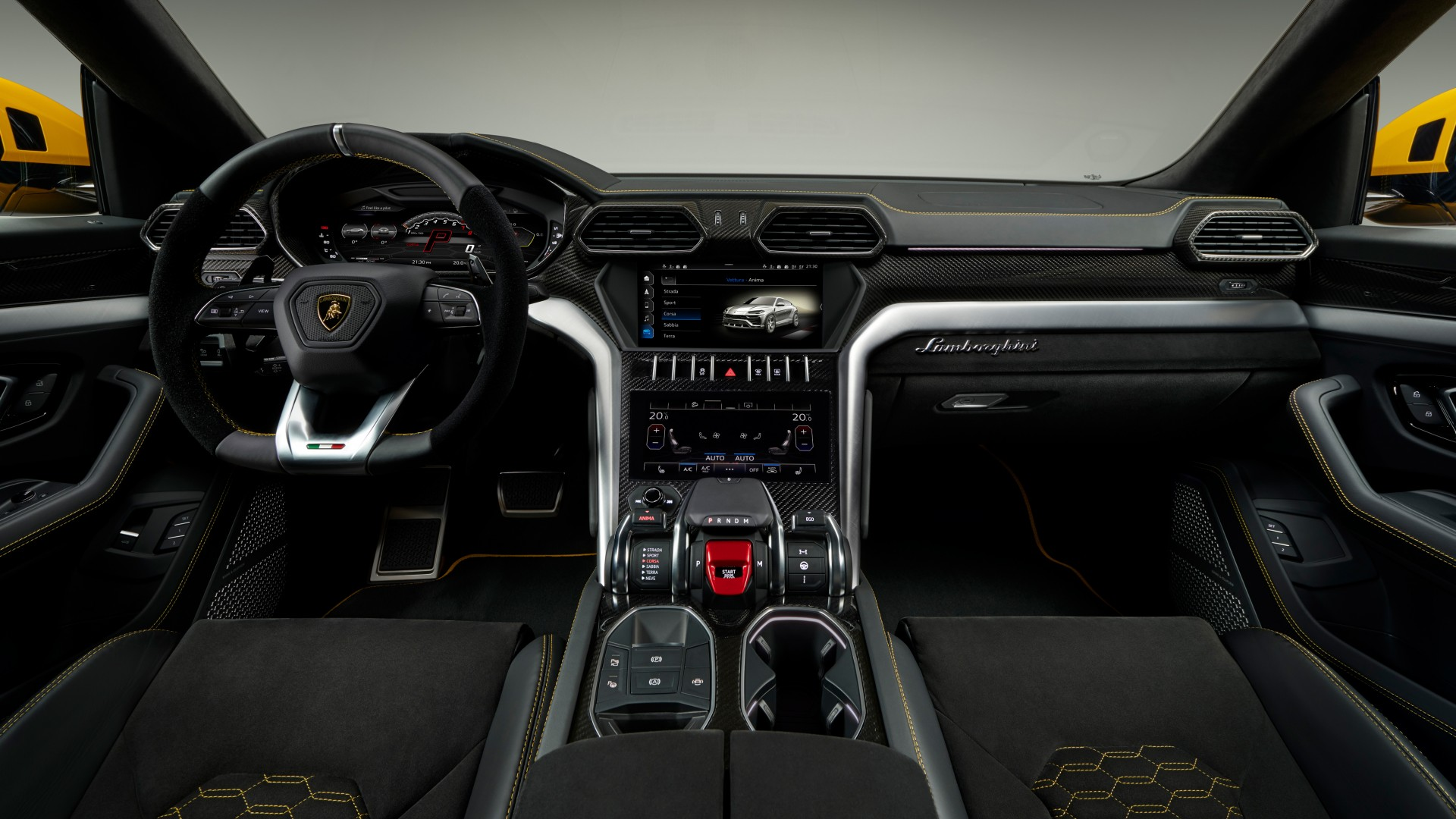 2018 Lamborghini Urus Interior 4k Wallpaper Hd Car