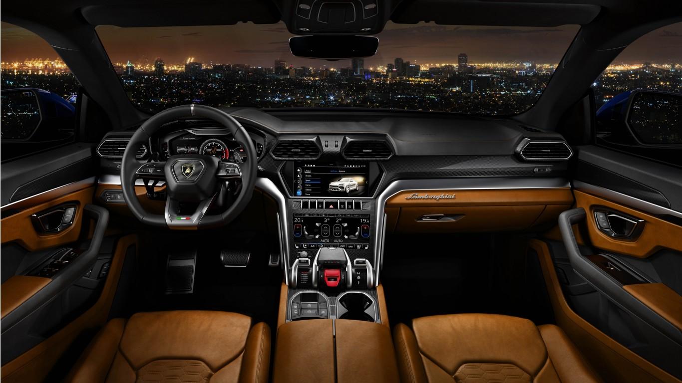 Rolls Royce Bentley >> 2018 Lamborghini Urus Off Road Interior 4K Wallpaper | HD Car Wallpapers | ID #9221