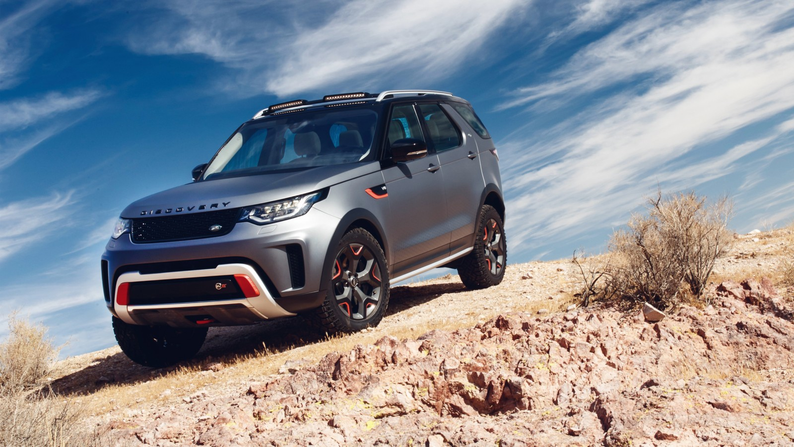 2018 Land Rover Discovery Svx 2 Wallpaper Hd Car