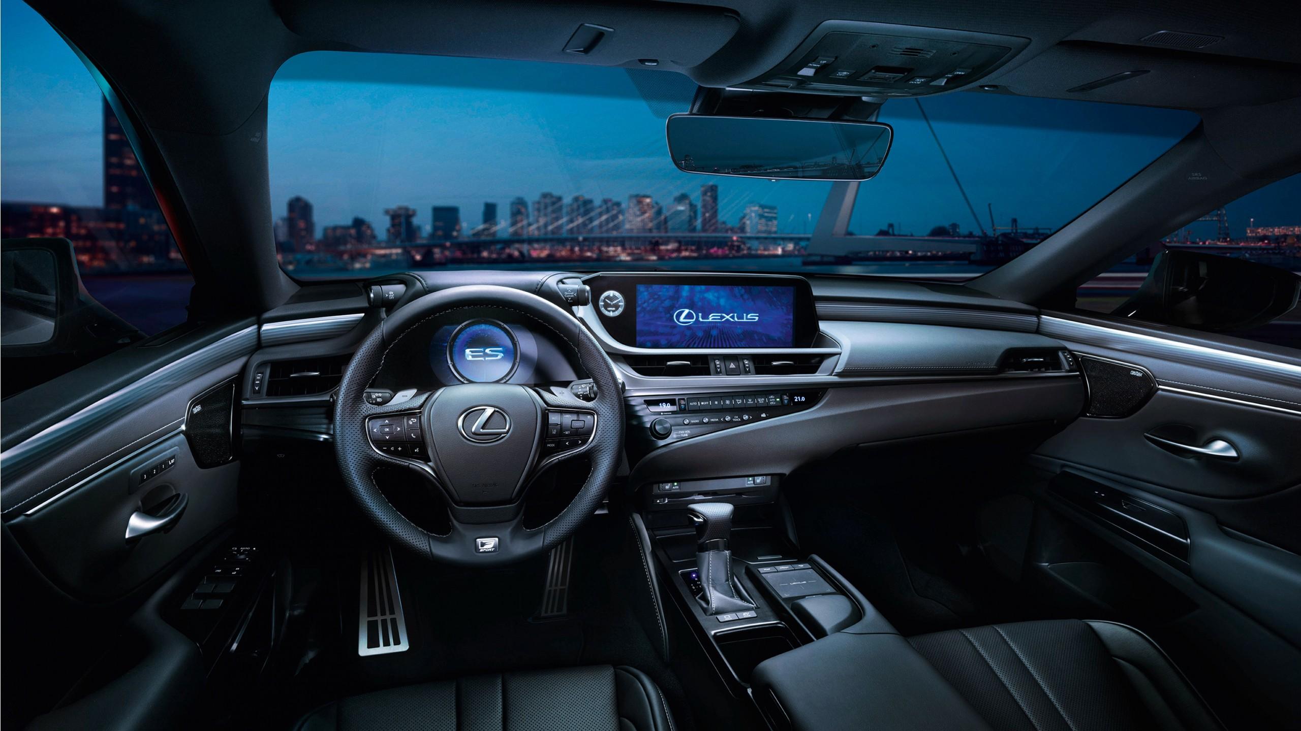 2018 Lexus ES 300h F Sport Interior Wallpaper | HD Car ...