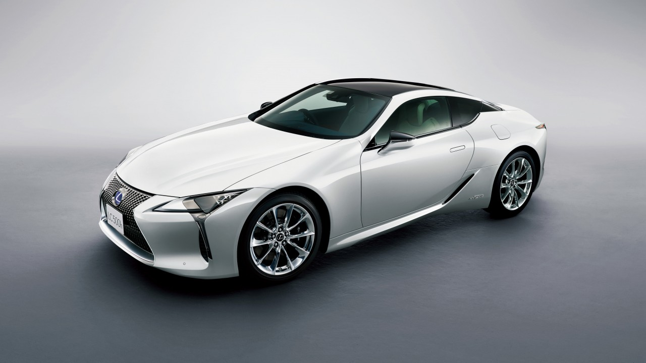 2018 lexus lc500h hybrid coupe wallpaper hd car. Black Bedroom Furniture Sets. Home Design Ideas