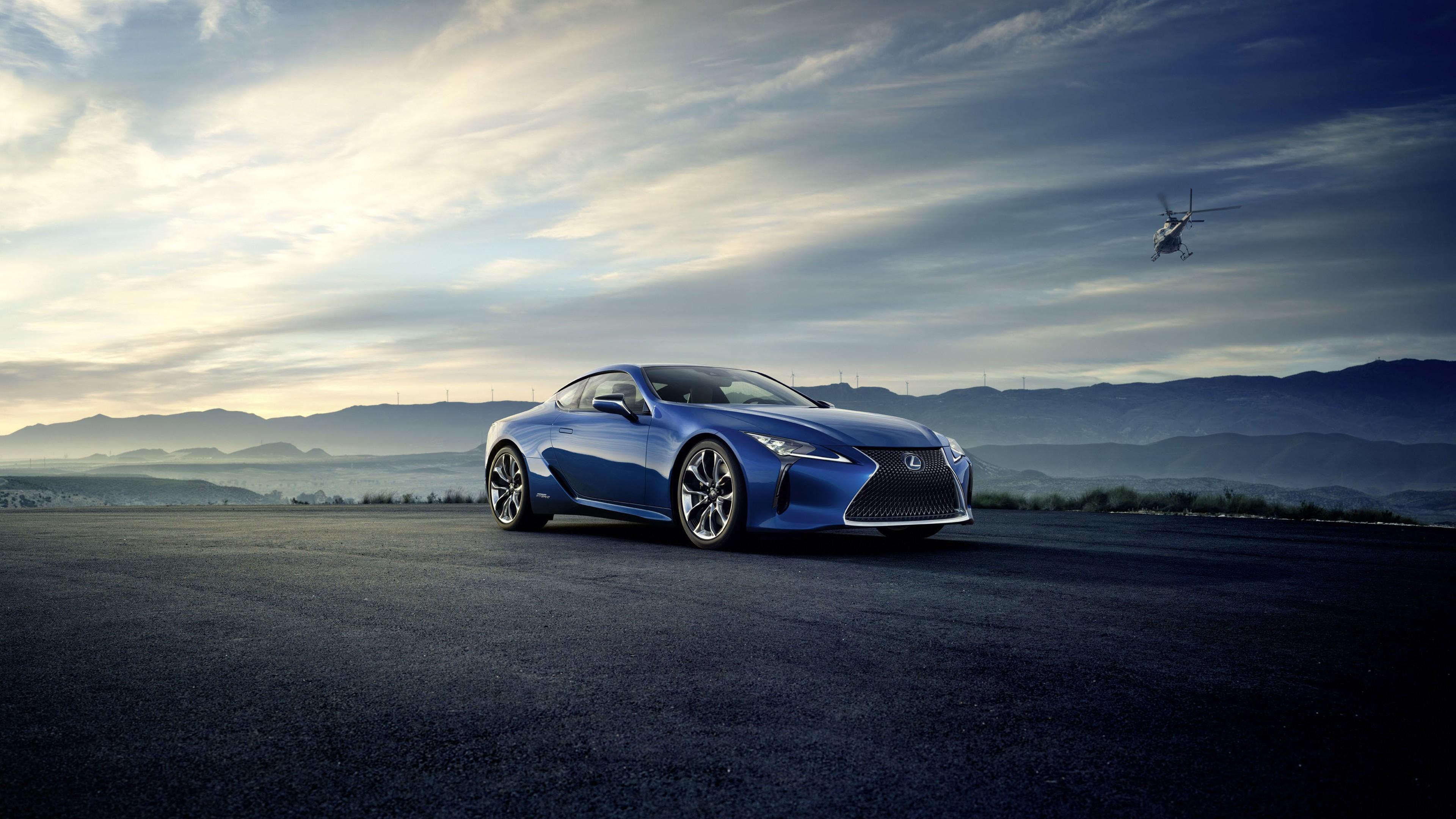 2018 Lexus LC500h Hybrid Coupe 4K Wallpaper | HD Car ...