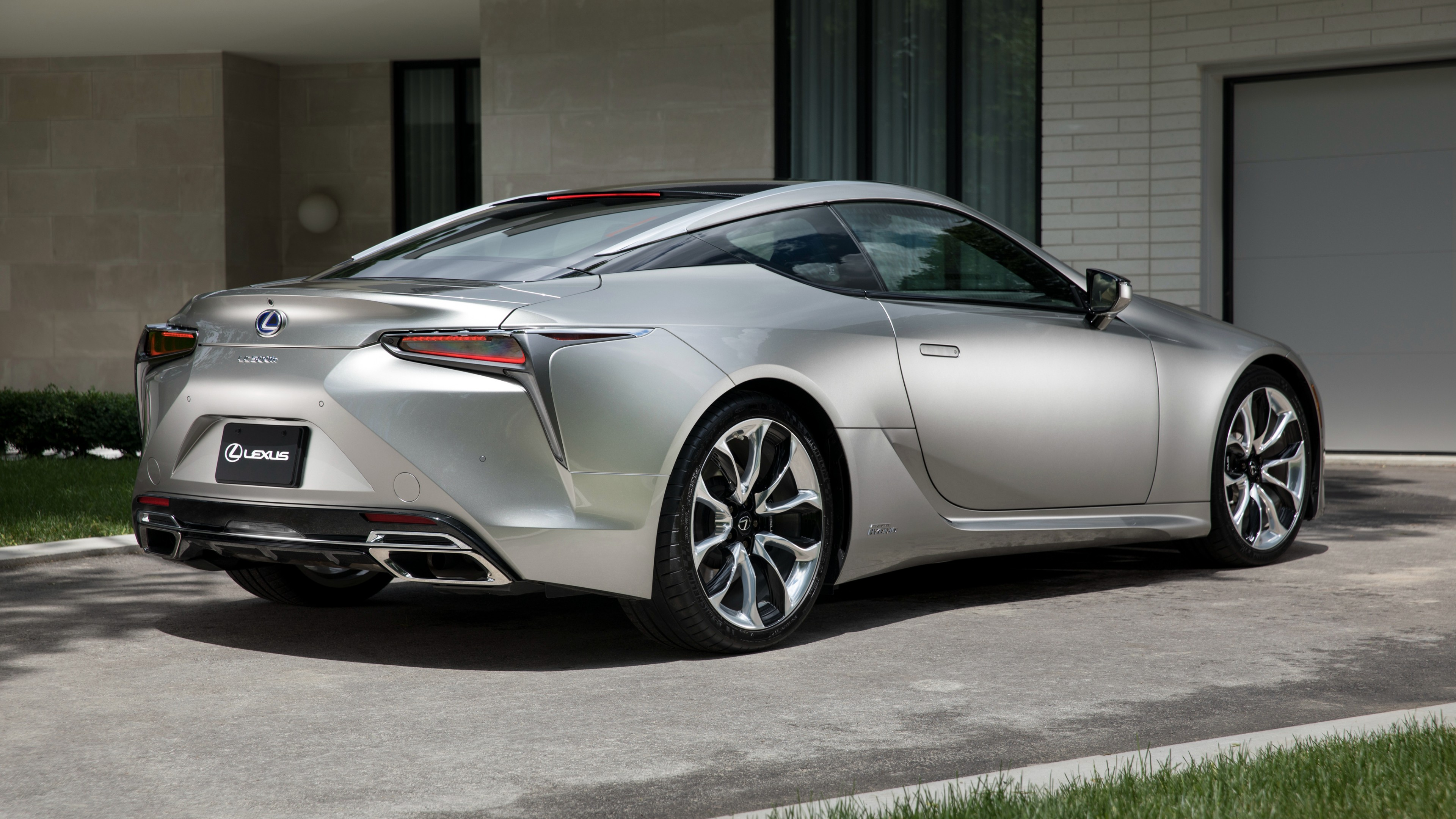 2018 Lexus LC 500h 4K 3 Wallpaper