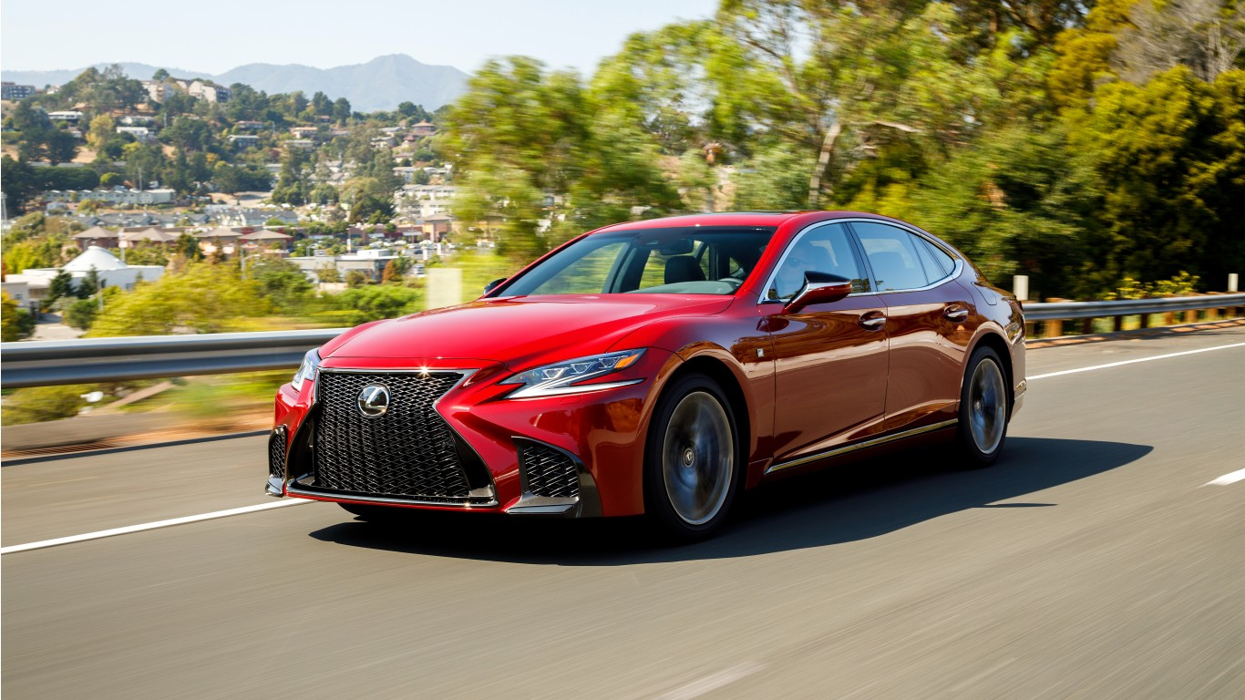 2018 Lexus Ls 500 Awd F Sport 4k 2 Wallpaper Hd Car
