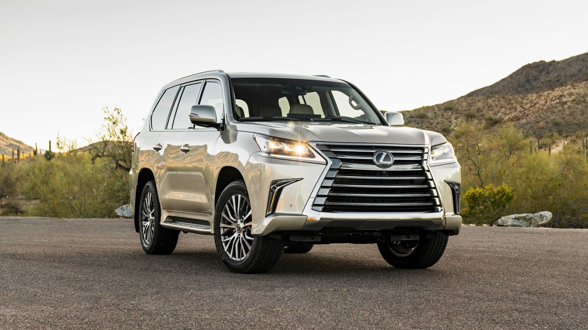 2018 Lexus Lx 570 Two Row Wallpaper Hd Car Wallpapers