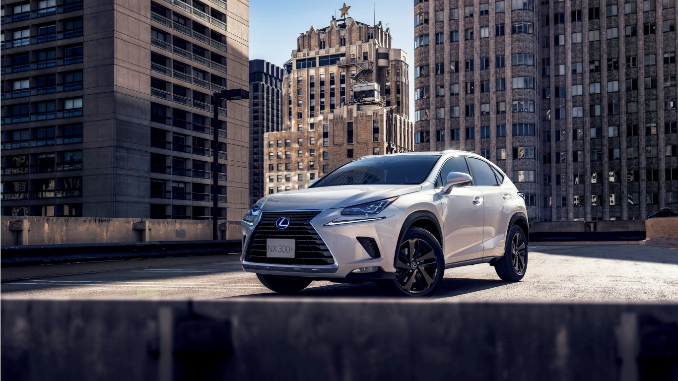 2018 Lexus NX 300h 4K 2 Wallpaper HD Car Wallpapers ID