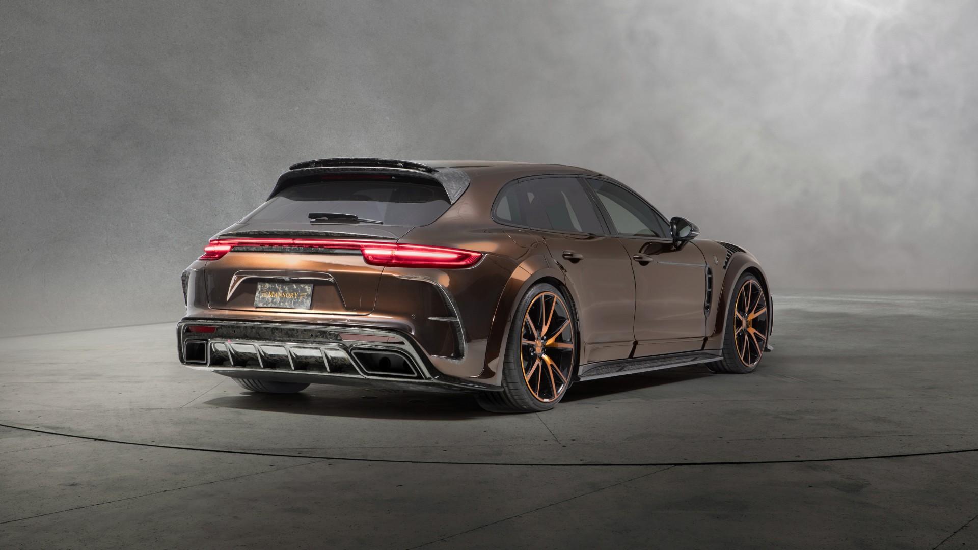 Porsche 911 R >> 2018 Mansory Porsche Panamera Sport Turismo 4K 2 Wallpaper | HD Car Wallpapers | ID #9835