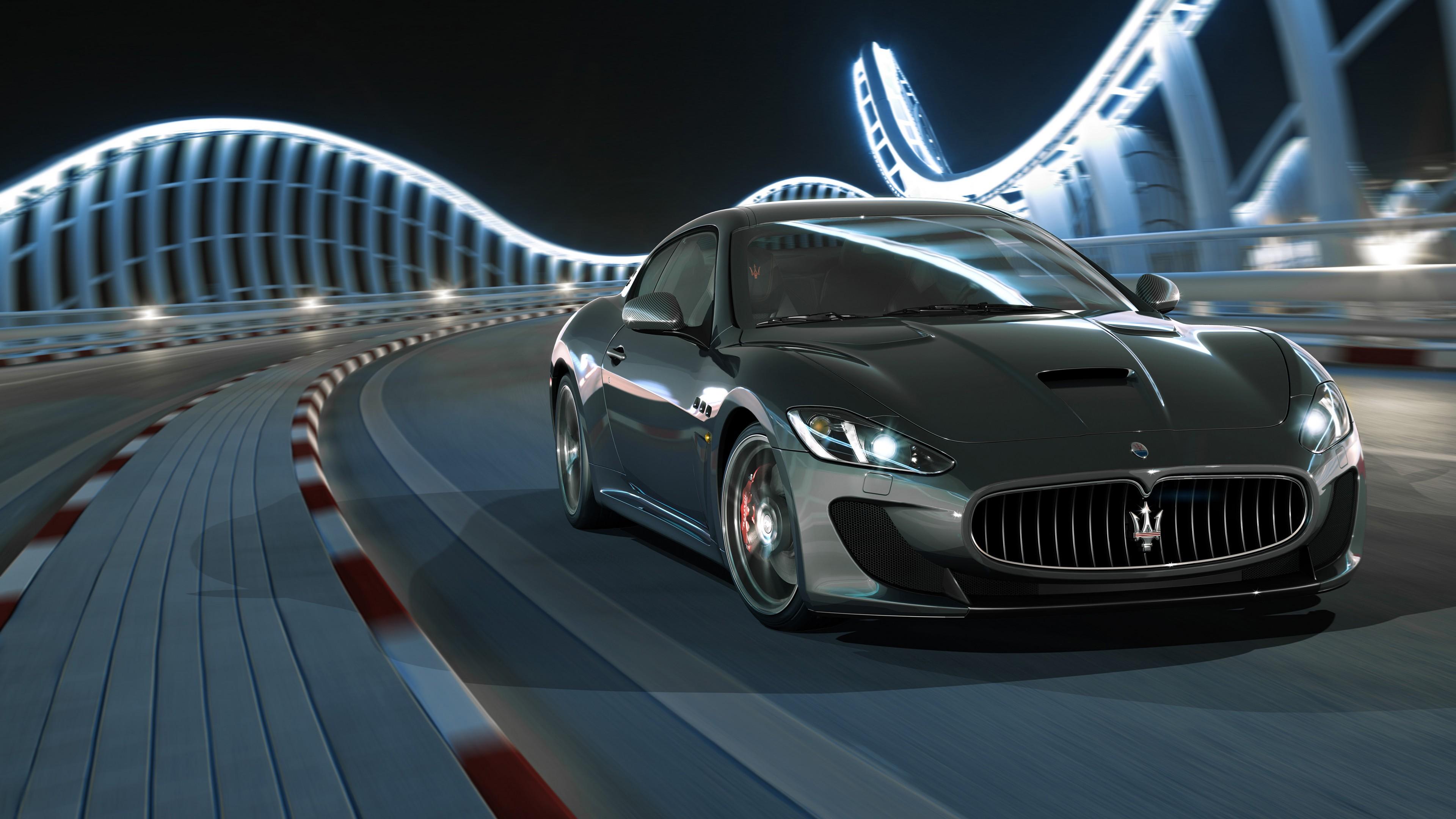 2018 Maserati GranTurismo 4K Wallpaper | HD Car Wallpapers ...