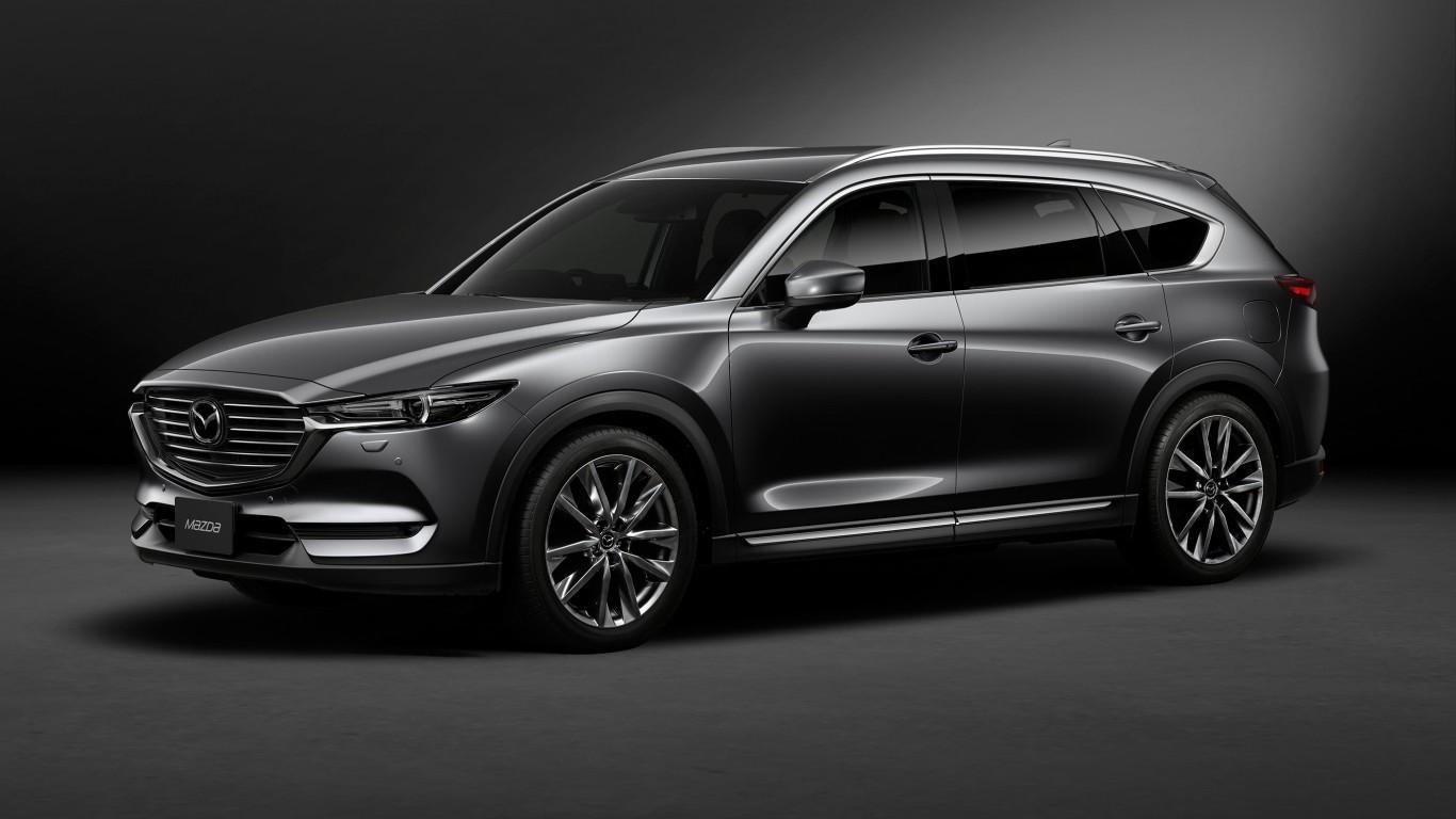 2018 Mazda Cx 8 Custom Wallpaper Hd Car Wallpapers Id