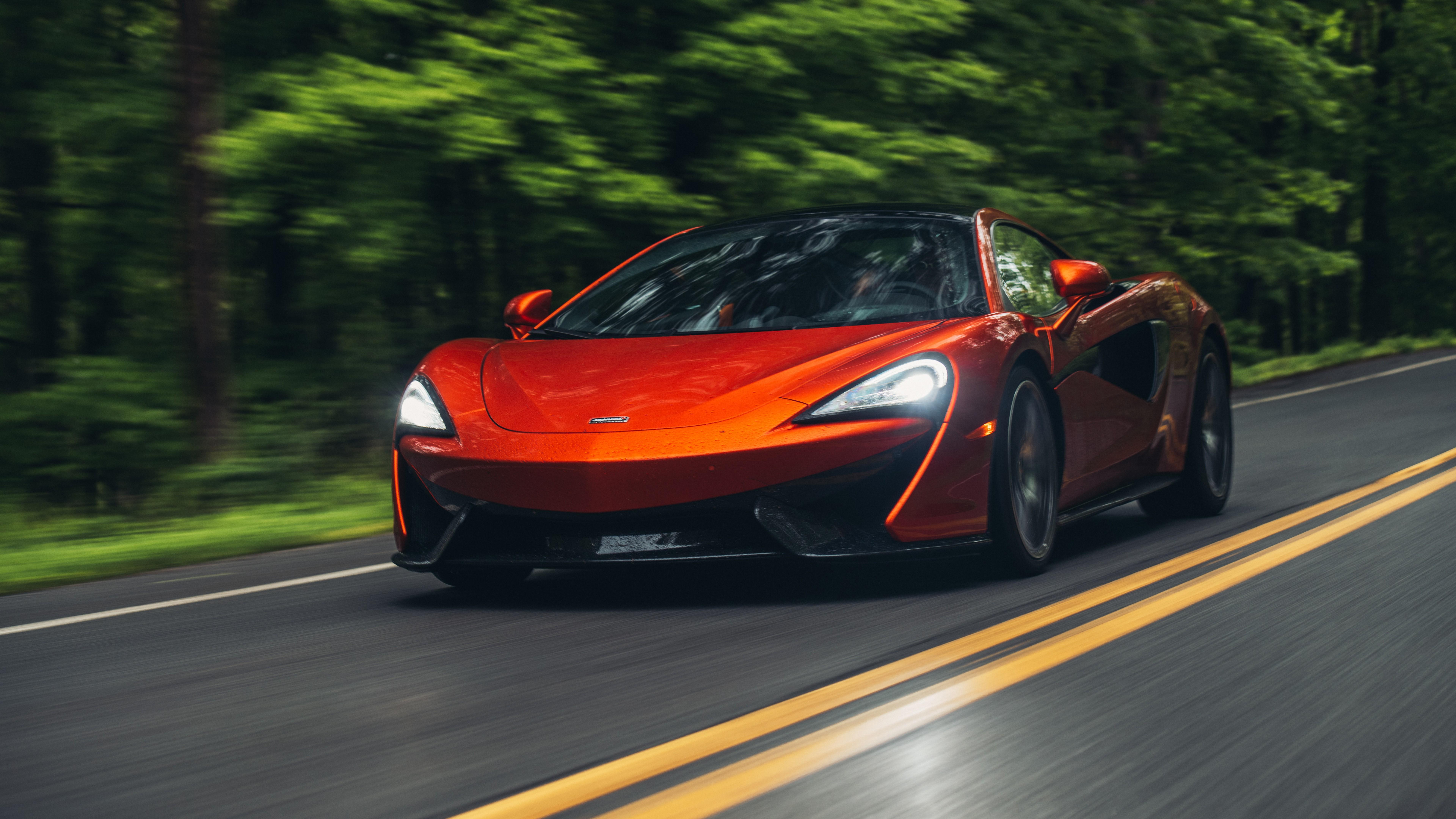 2018 McLaren 570S Spider 4K 8K Wallpaper | HD Car ...