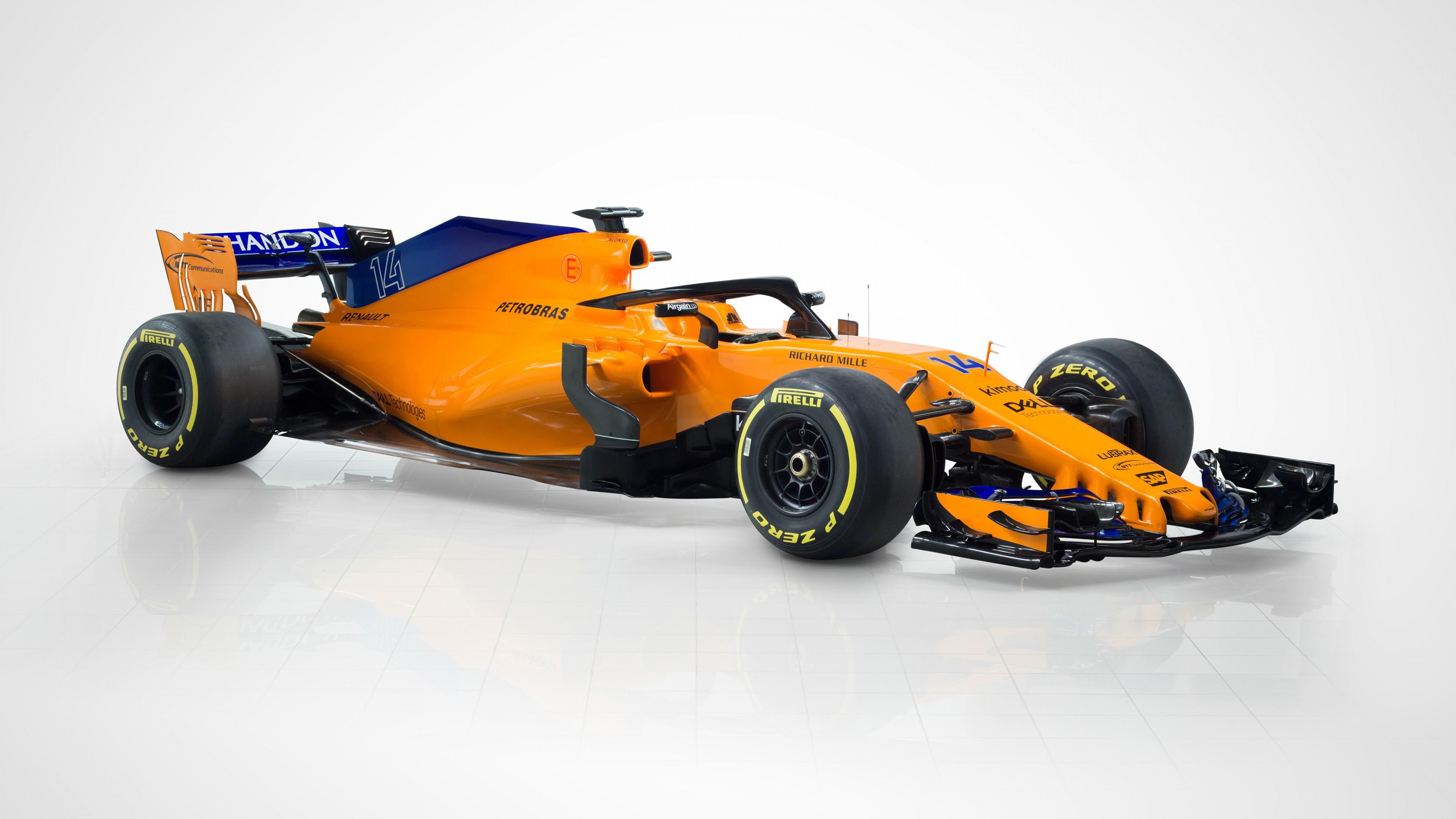 2018 McLaren MCL33 F1 Fomula 1 Car 4K 2 Wallpaper   HD Car ...