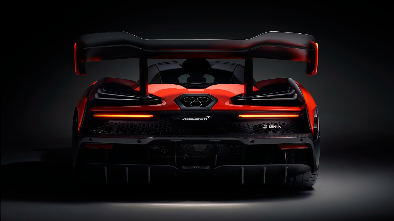 2018 McLaren Senna 4K 2 Wallpaper | HD Car Wallpapers | ID ...