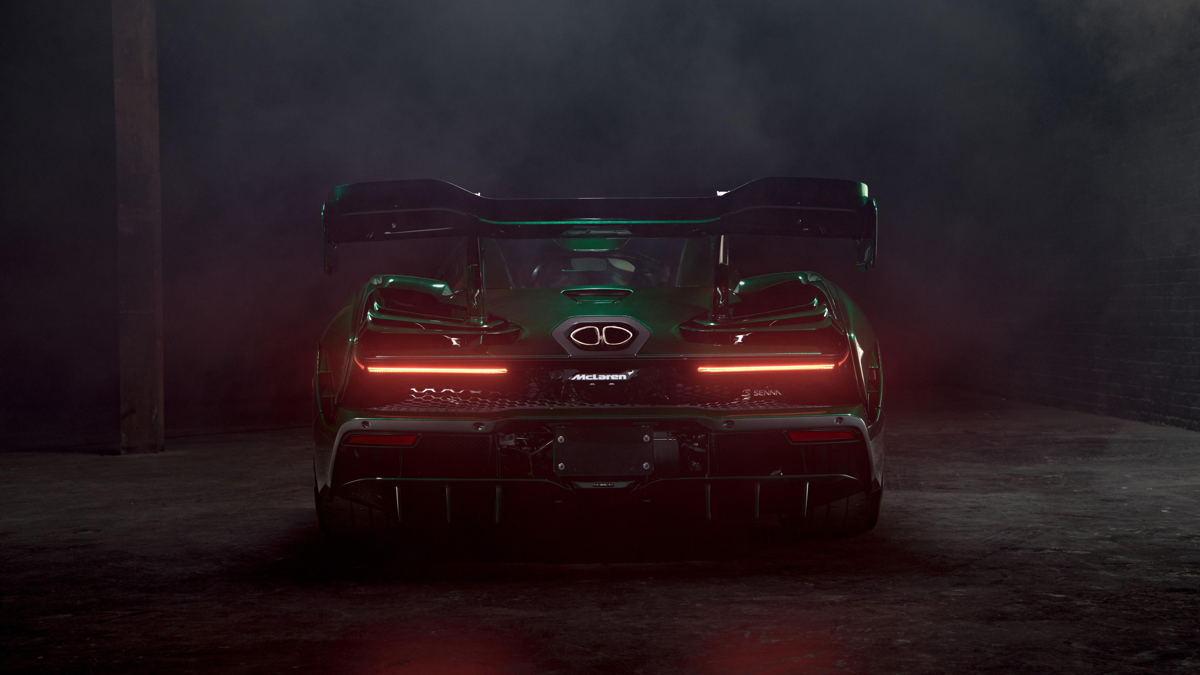 2018 Mclaren Senna Emerald Green 4k 8k Wallpaper Hd Car Wallpapers Id 10874