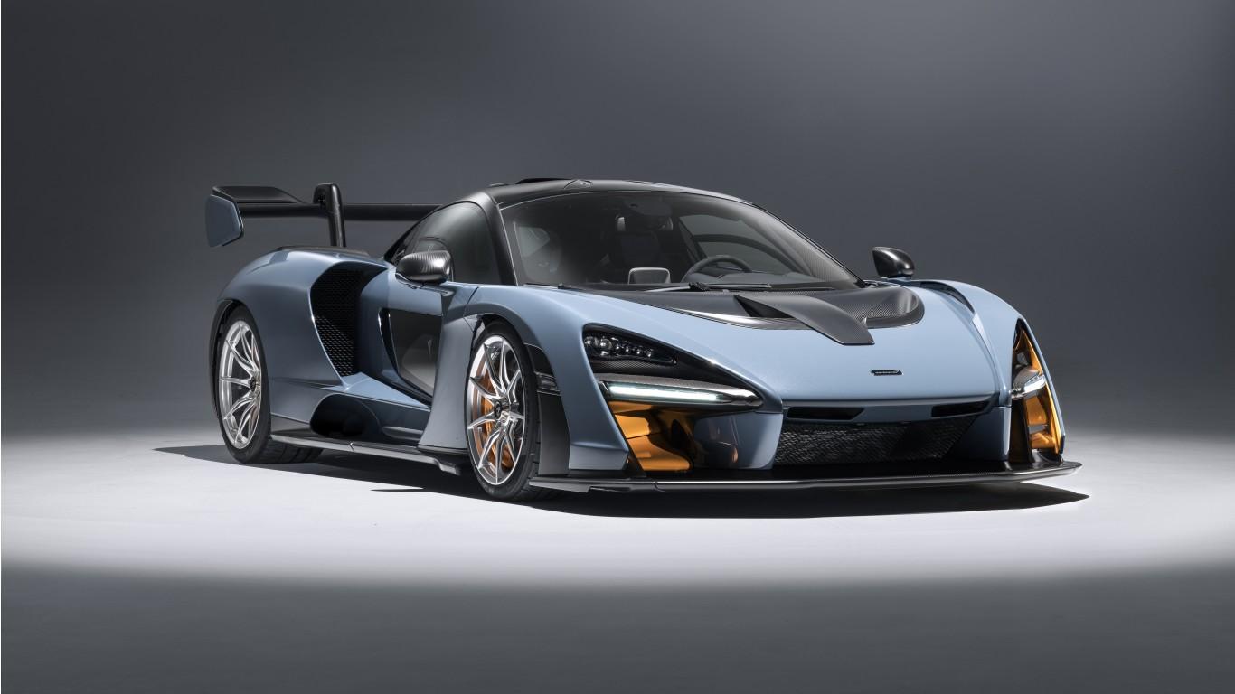 2018 Ford Gt >> 2018 McLaren Senna Victory Grey 5K 3 Wallpaper   HD Car ...