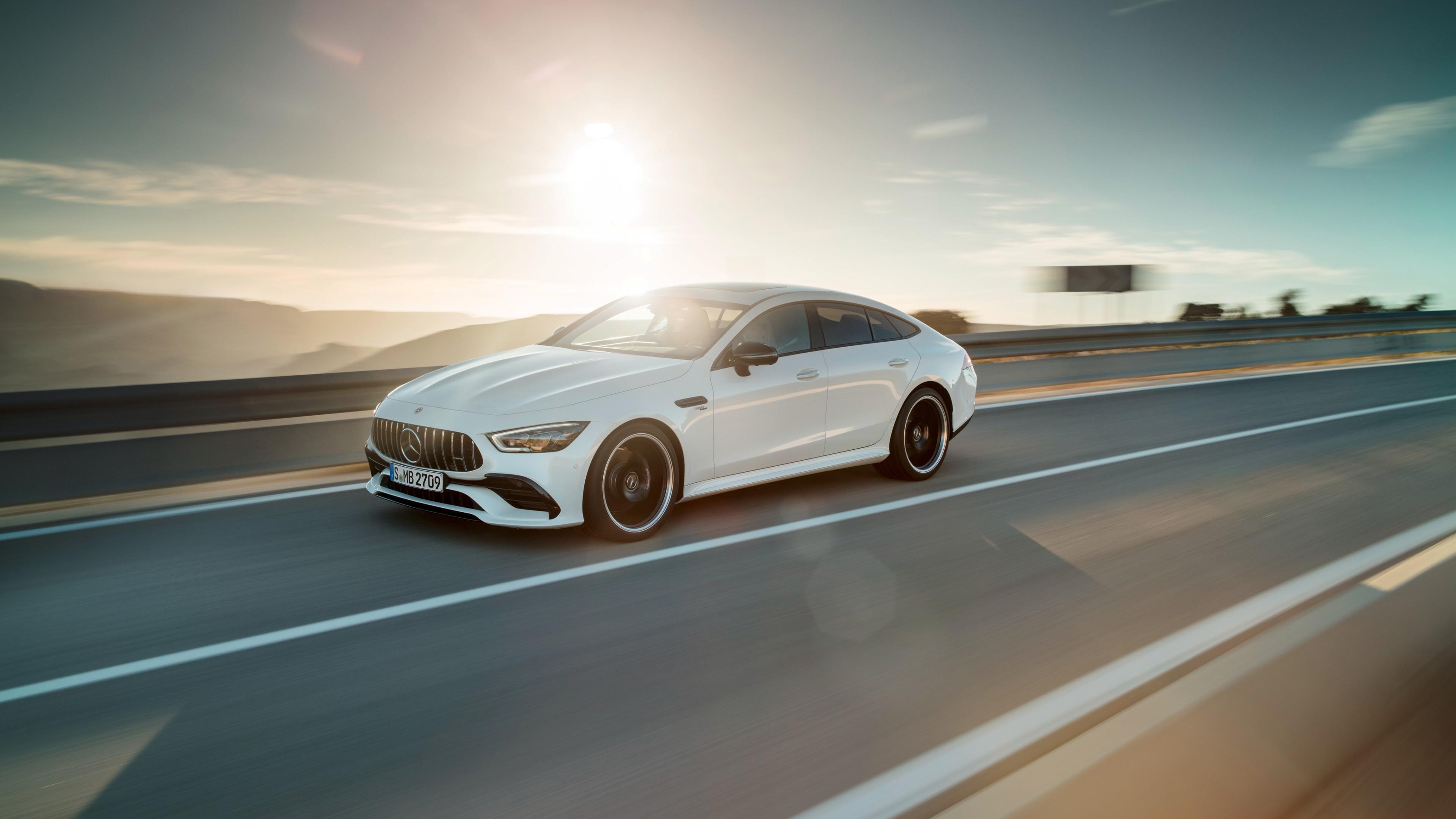 2018 Mercedes AMG GT 53 4Matic 4 Door Coupe 4K 2 Wallpaper ...