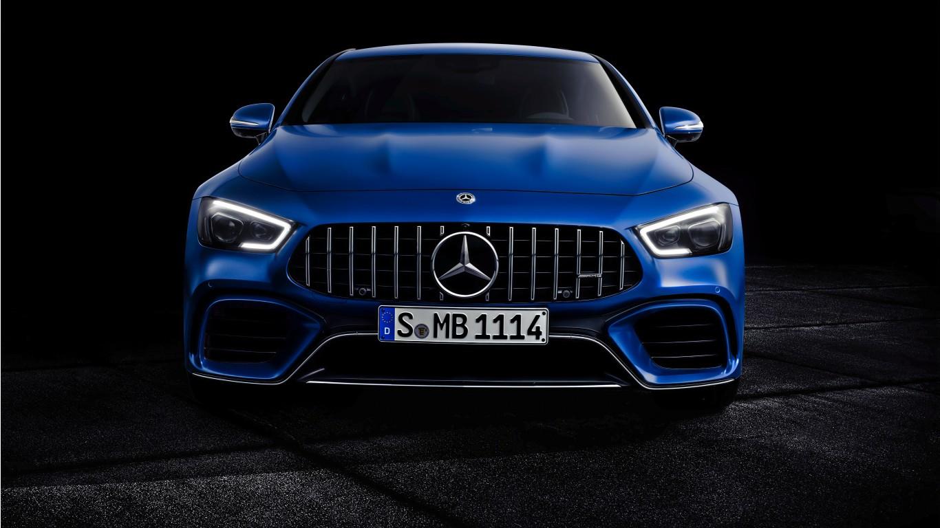 2018 Mercedes Amg Gt 63 S 4matic 4door Coupe 4k Wallpaper