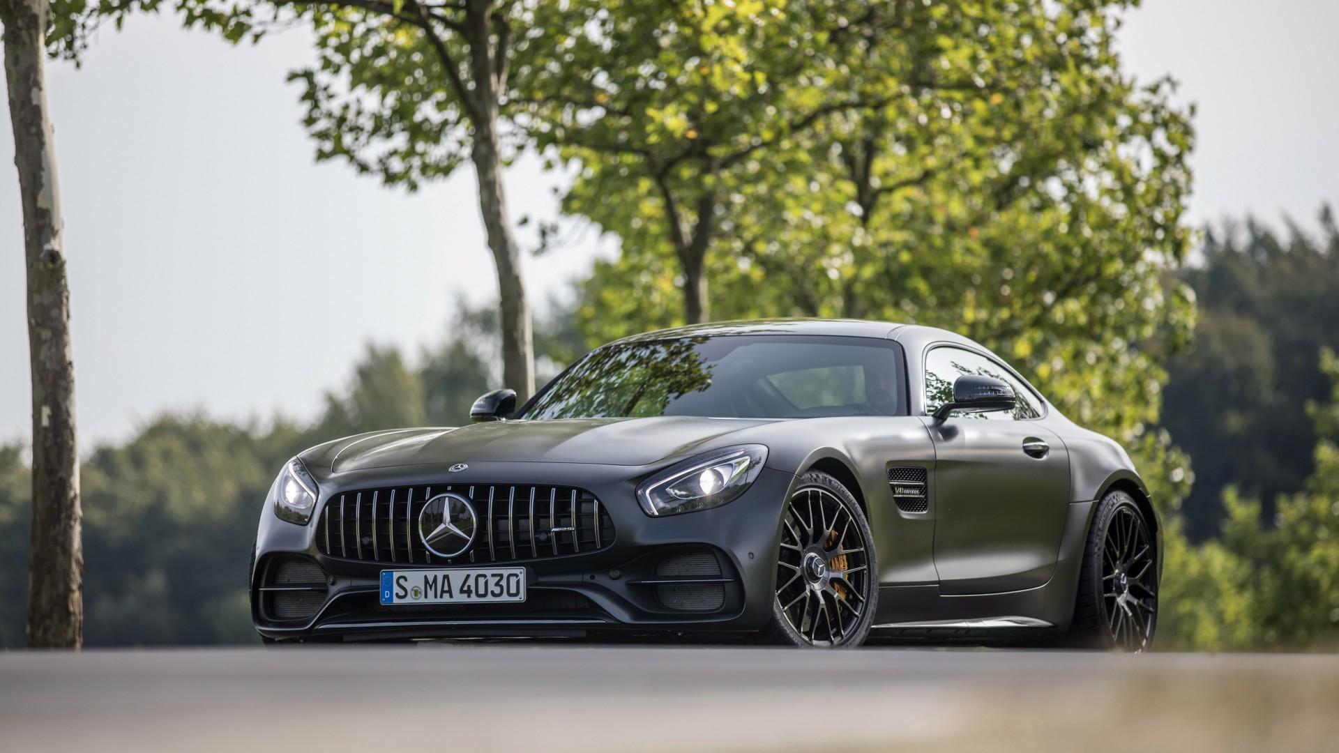 2018 Mercedes Amg Gt C Edition 50 4k Wallpaper Hd Car