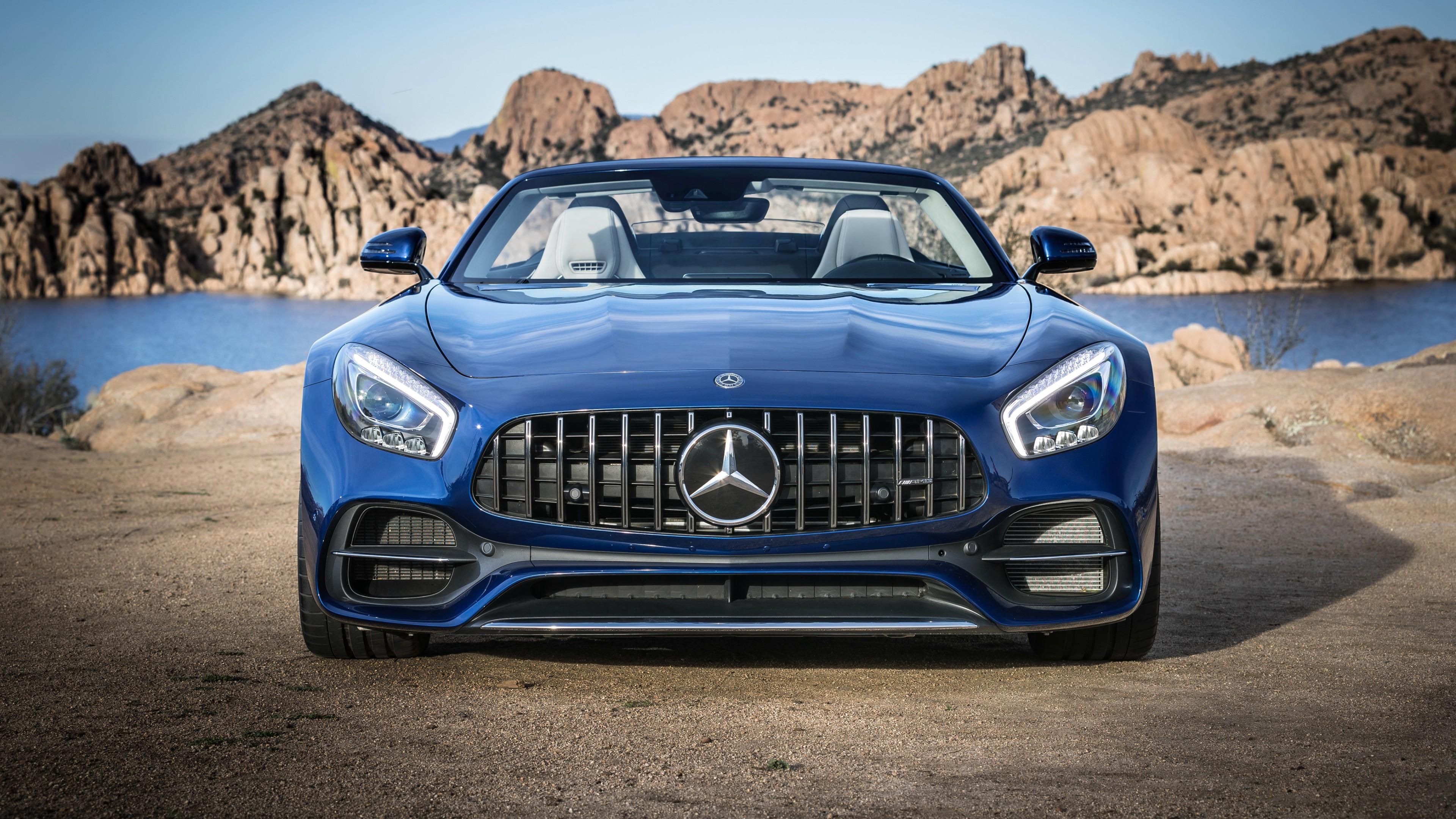 2018 Mercedes Amg Gt Roadster Wallpaper Hd Car Wallpapers Id 7727
