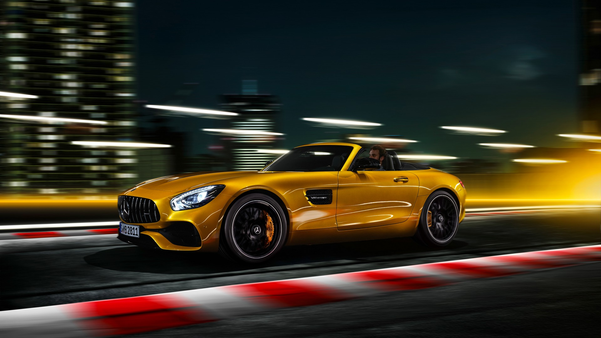 2018 Mercedes Amg Gt S Roadster 4k 3 Wallpaper Hd Car