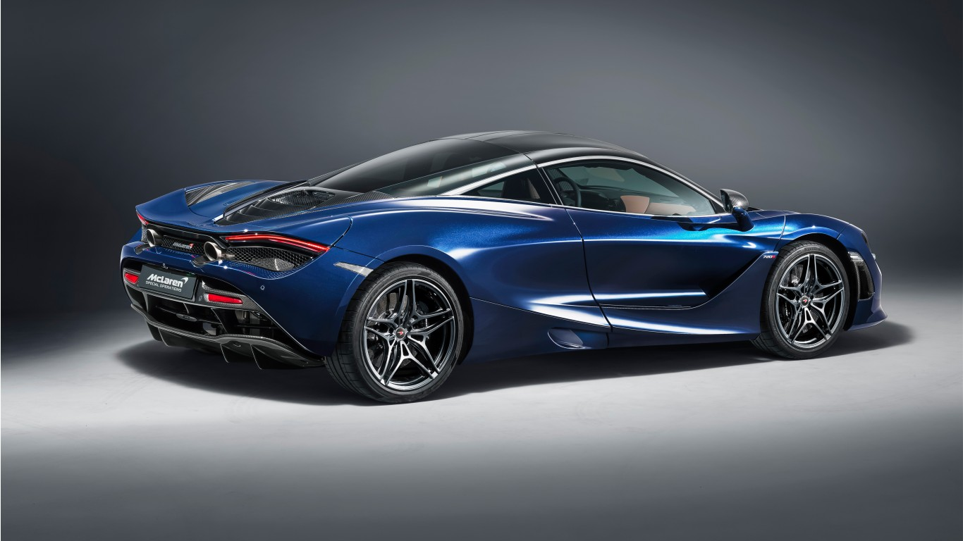 2018 MSO McLaren 720S Atlantic Blue 5K 2 Wallpaper | HD ...