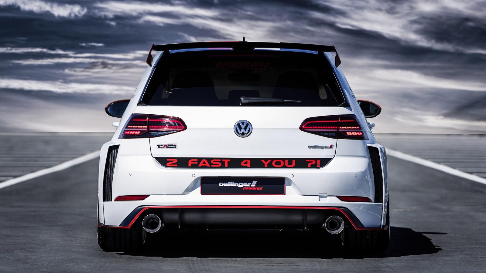 2018 Oettinger Volkswagen Golf Gti Tcr Germany Street 2