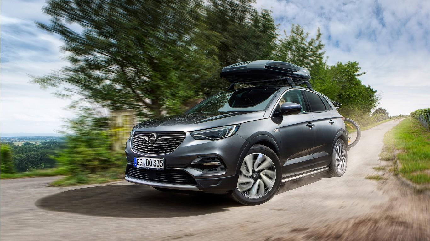 2018 Opel Grandland X Turbo D Accessorized 4k Wallpaper
