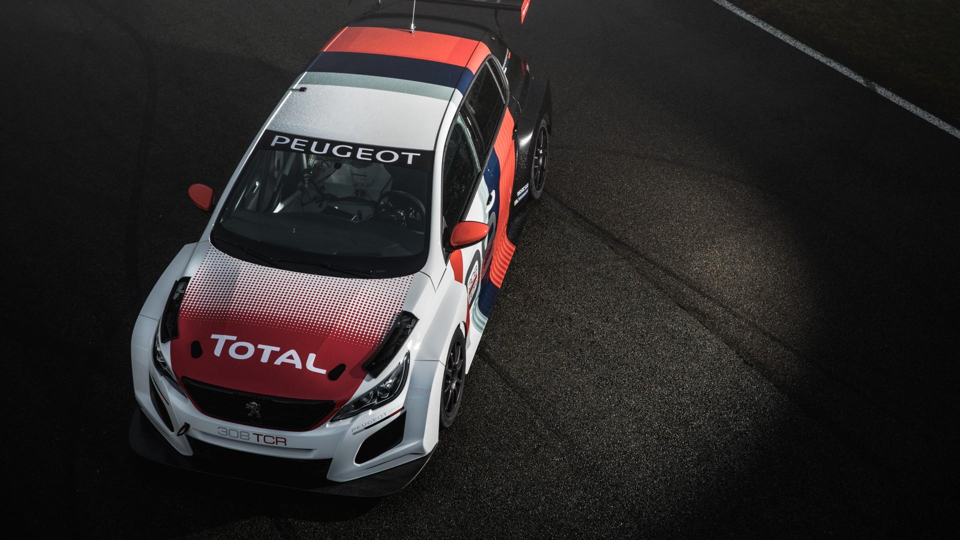 2018 Peugeot 308 TCR 4K 3 Wallpaper