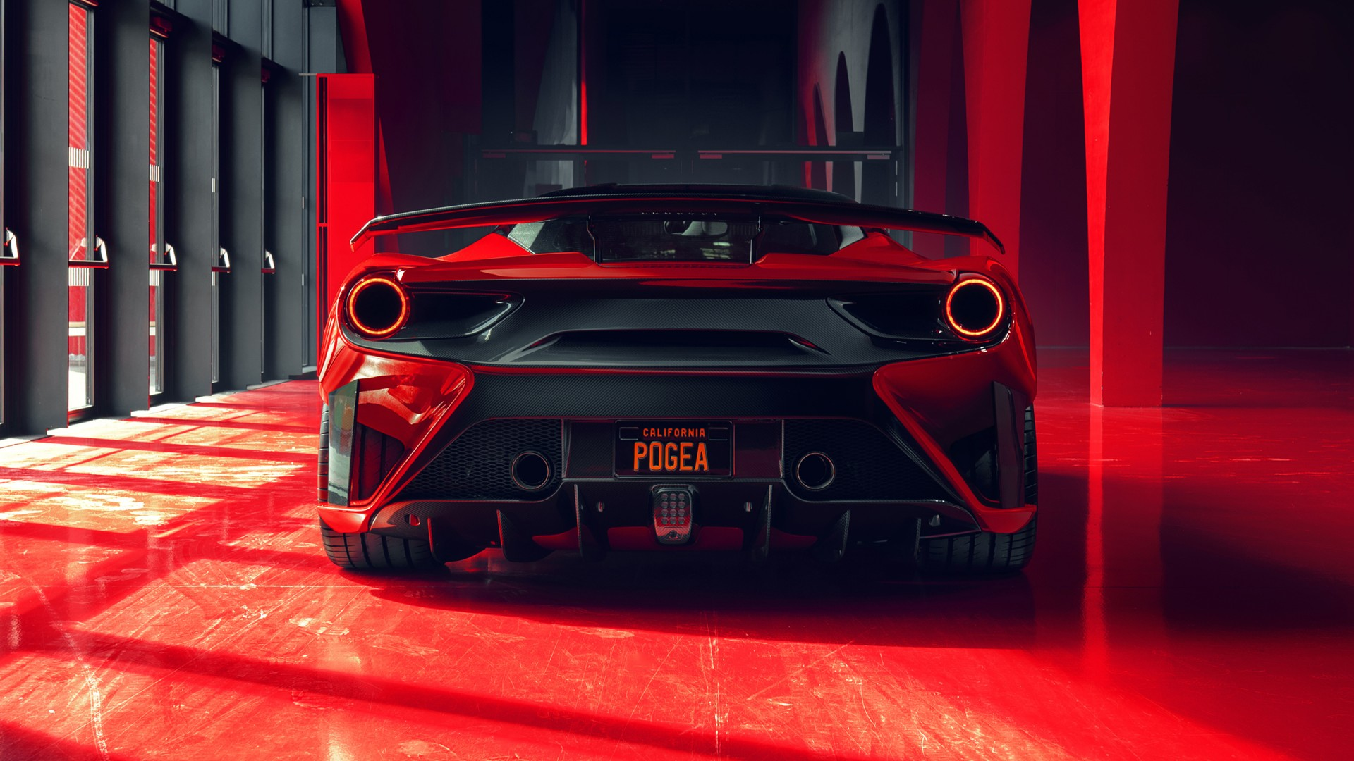 2018 Pogea Racing Fplus Corsa Ferrari 488 Gtb 2 Wallpaper