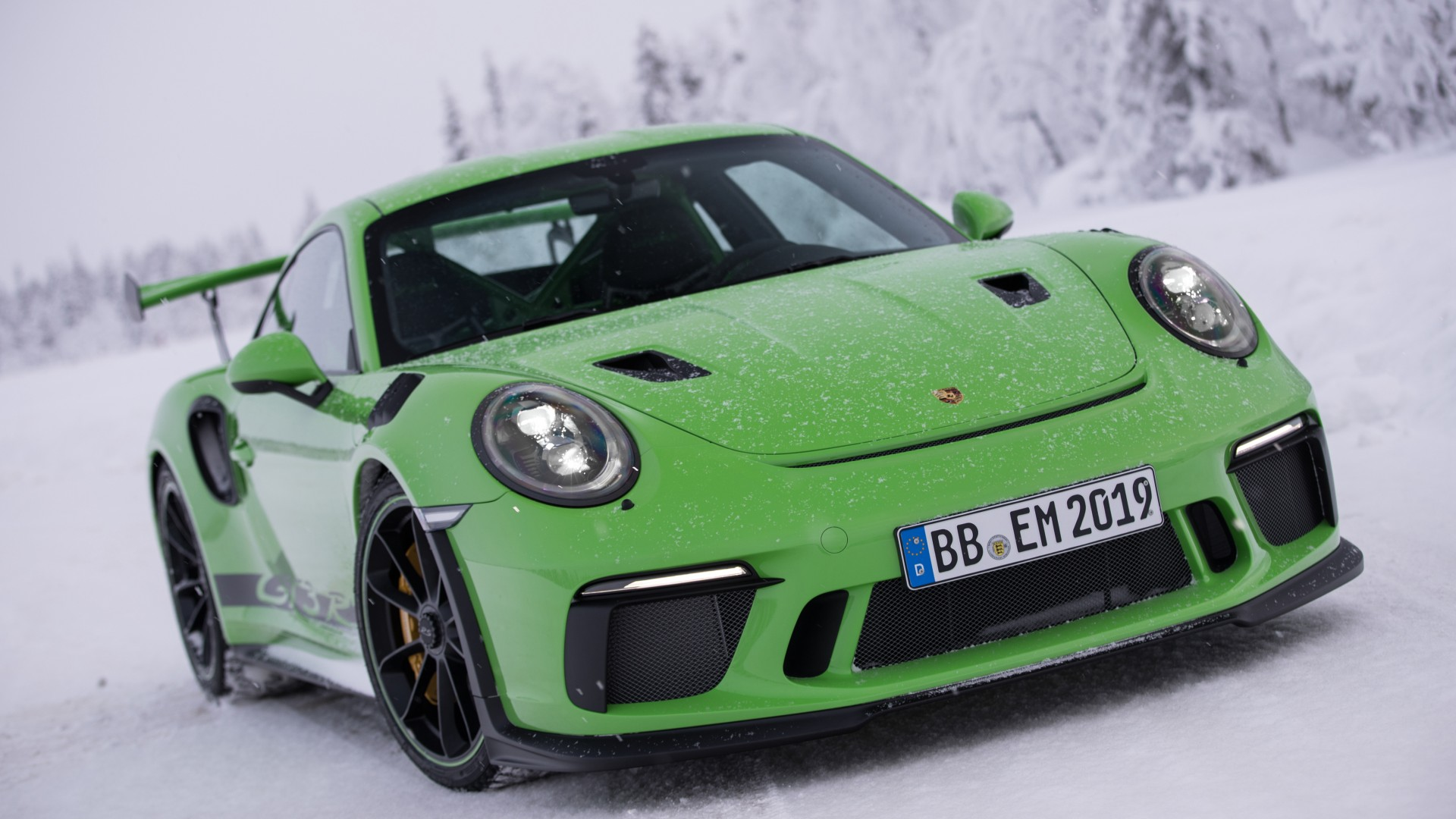 2018 Porsche 911 GT3 RS 4K Wallpaper