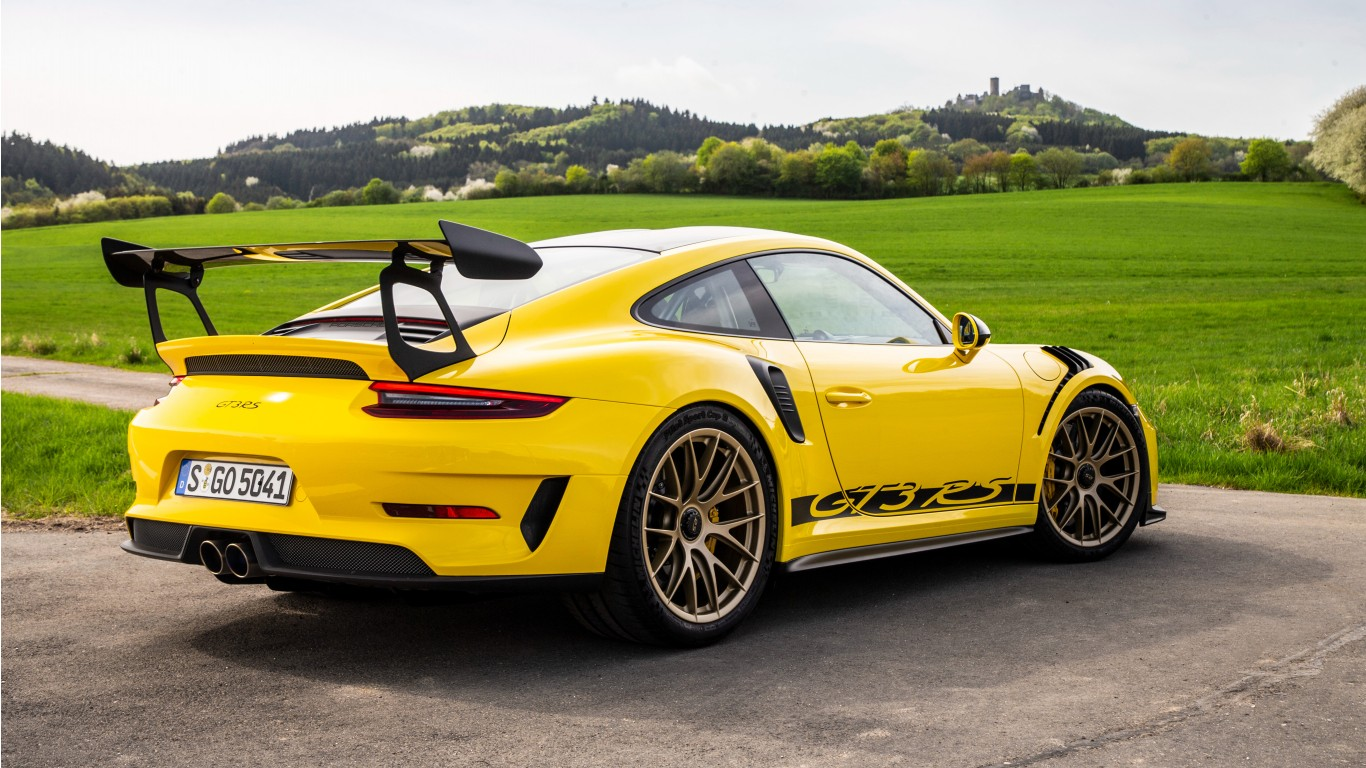 Kia Stinger Gt >> 2018 Porsche 911 GT3 RS Weissach Package 4K 2 Wallpaper | HD Car Wallpapers | ID #10299